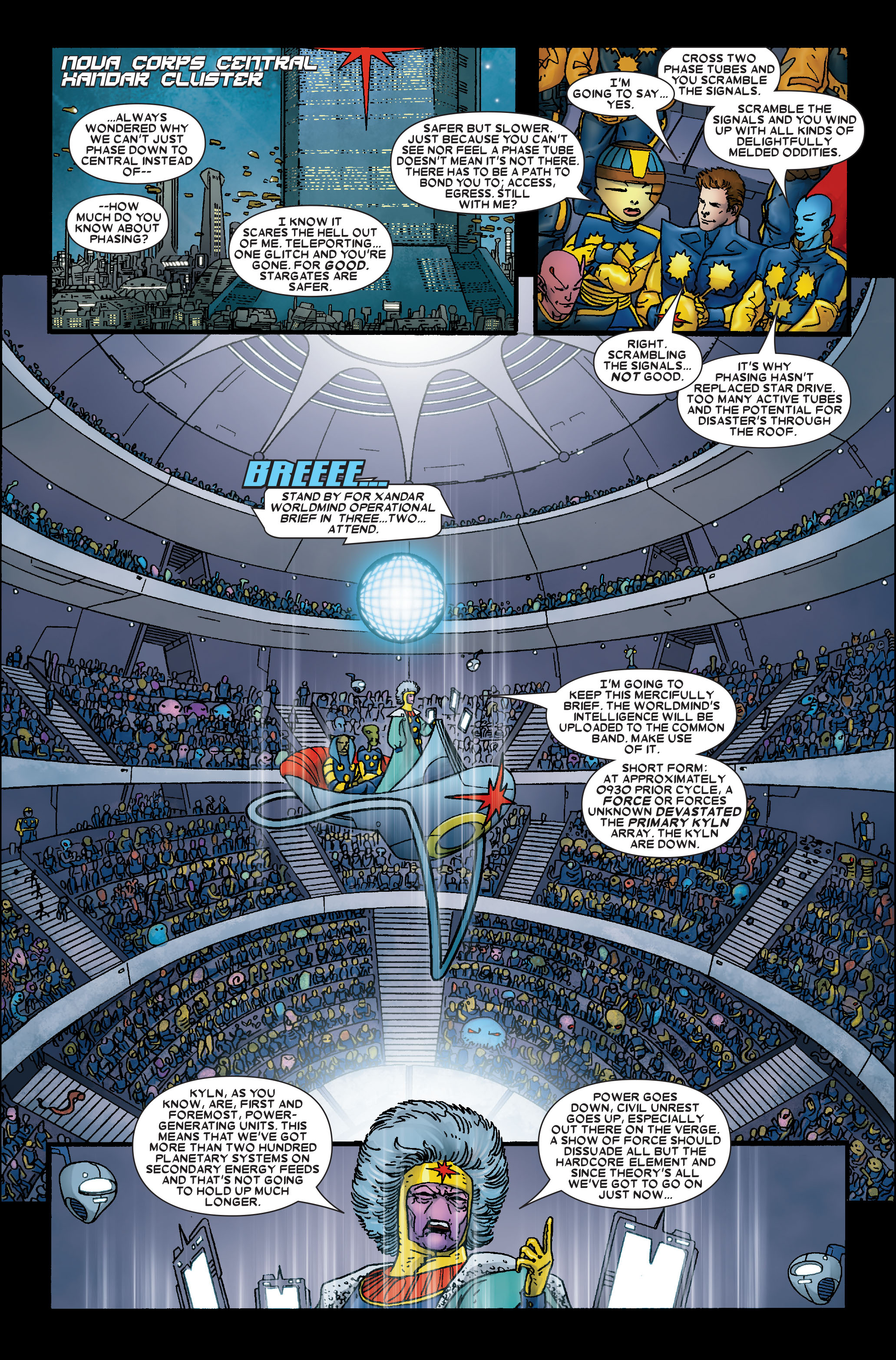 Read online Annihilation: Prologue comic -  Issue #Annihilation: Prologue Full - 14