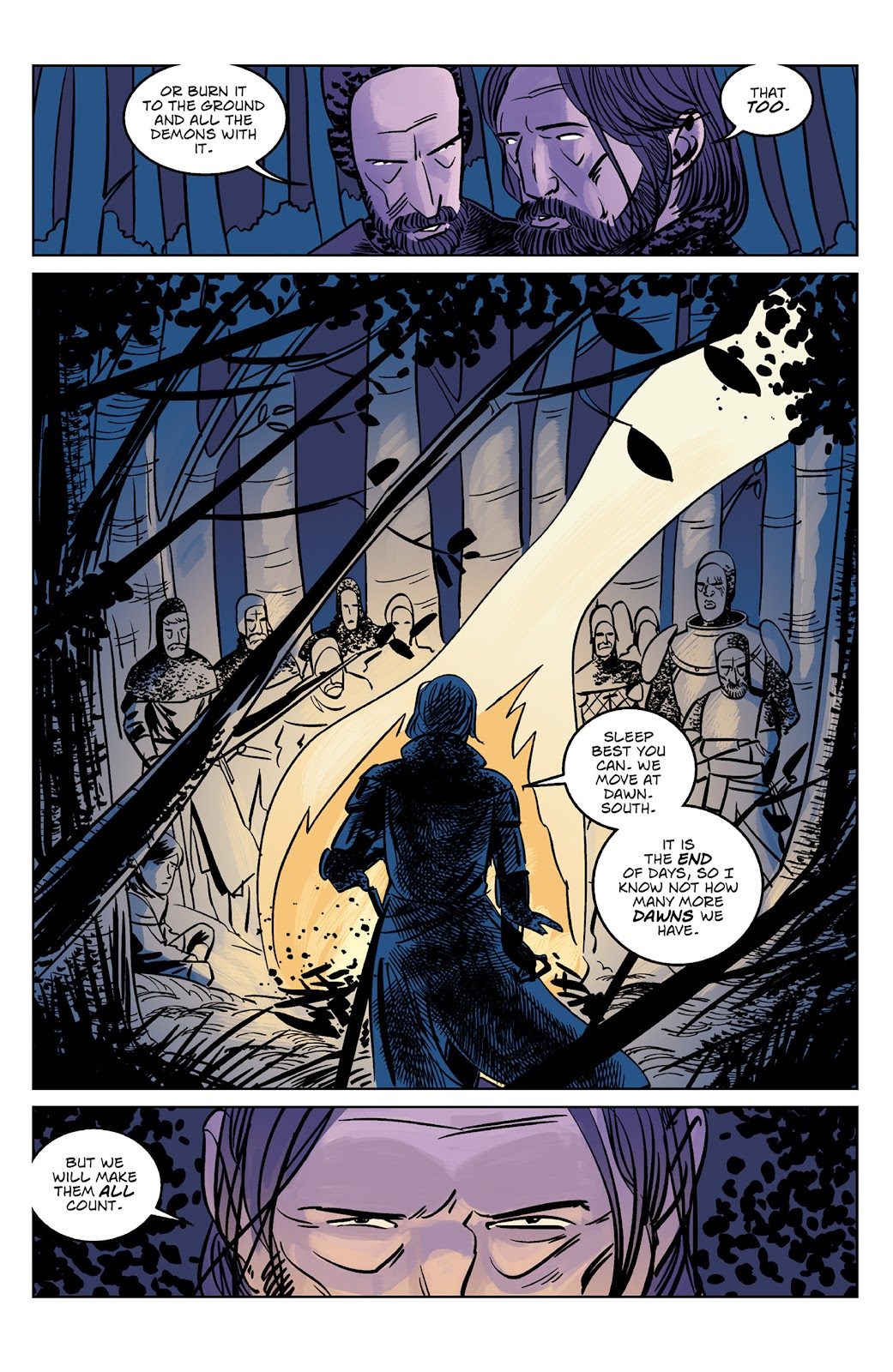 Read online Dark Ages comic -  Issue #4 - 21