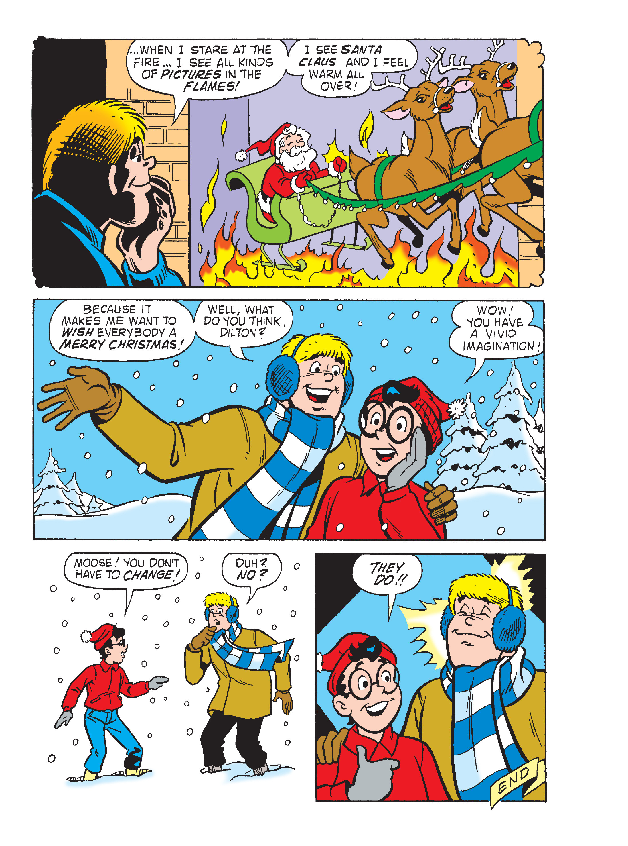 Read online Archie's Funhouse Double Digest comic -  Issue #23 - 23