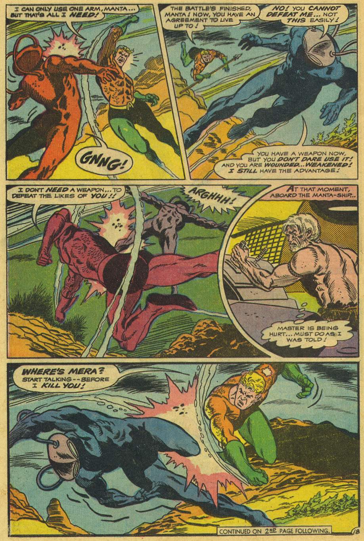 Read online Aquaman (1962) comic -  Issue #42 - 24
