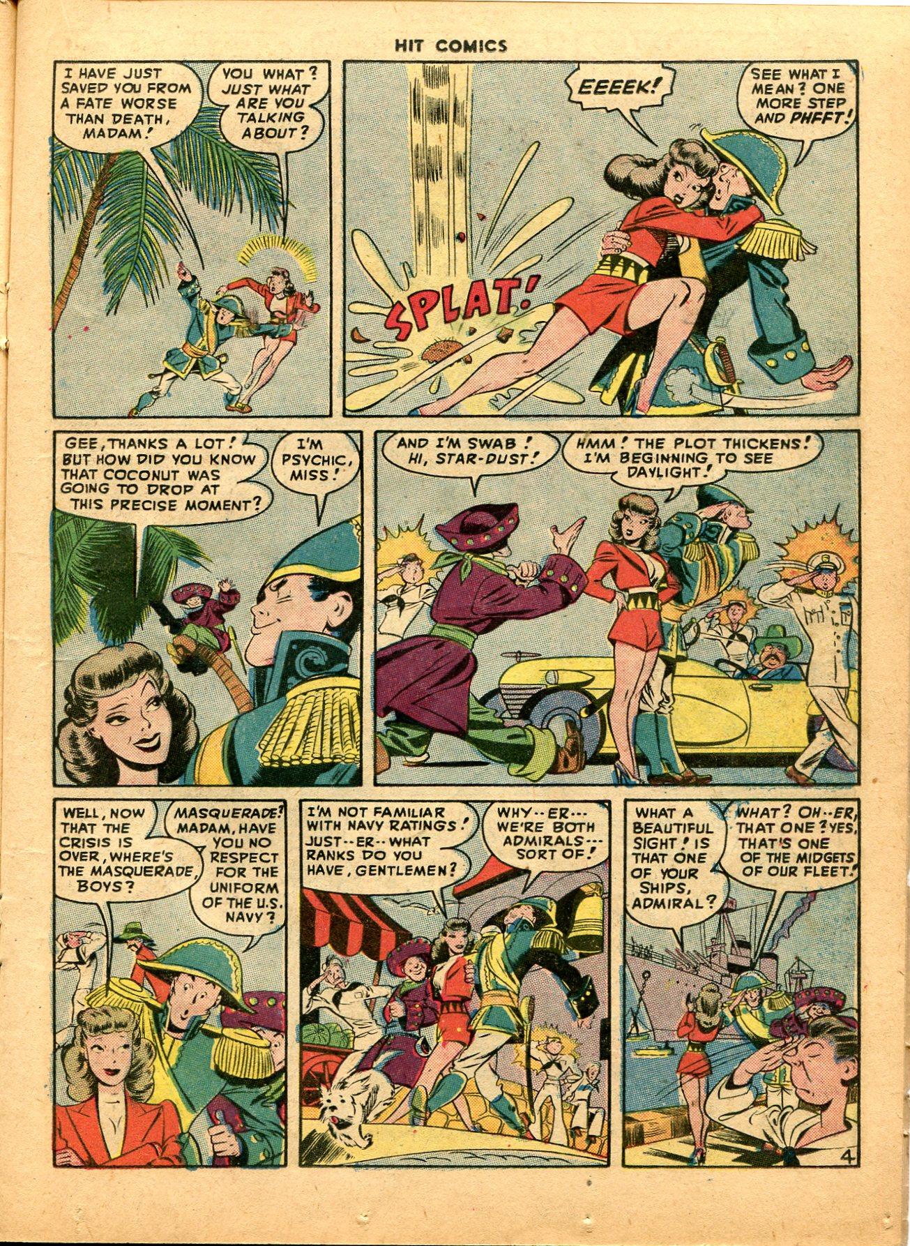 Read online Hit Comics comic -  Issue #49 - 19