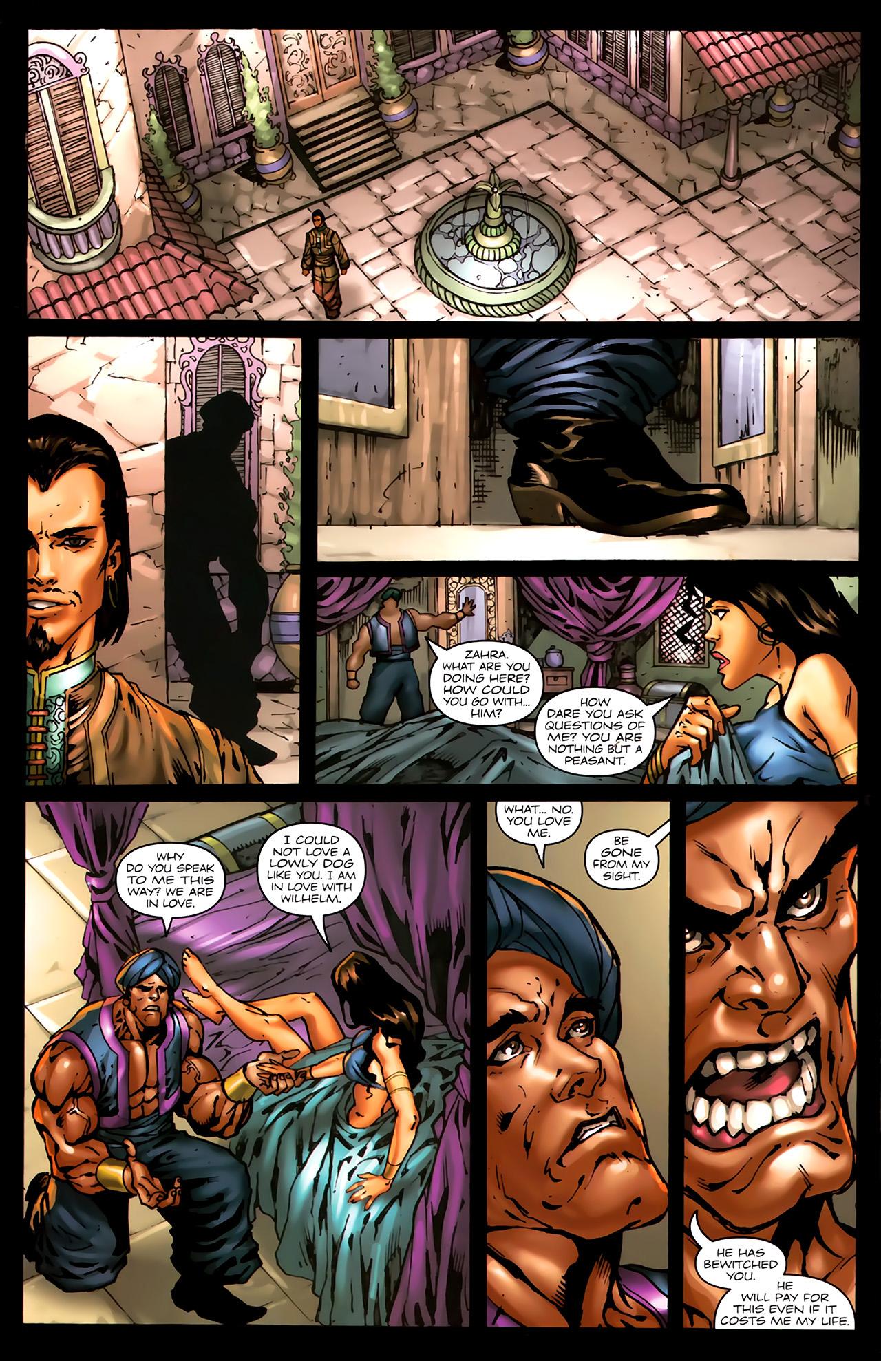Read online 1001 Arabian Nights: The Adventures of Sinbad comic -  Issue #7 - 17
