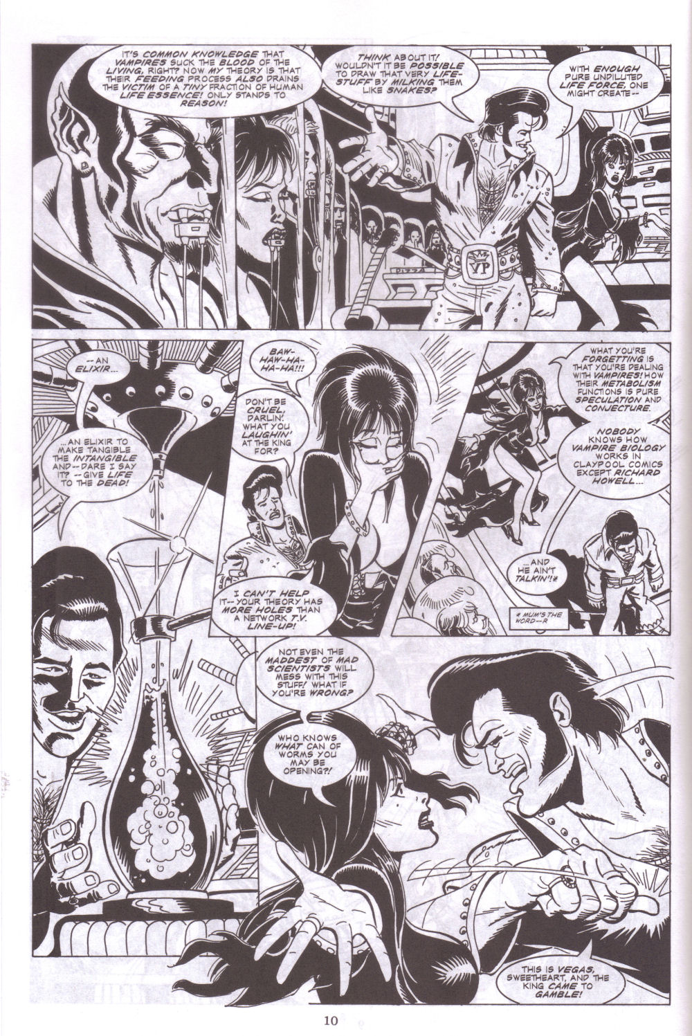 Read online Elvira, Mistress of the Dark comic -  Issue #127 - 12