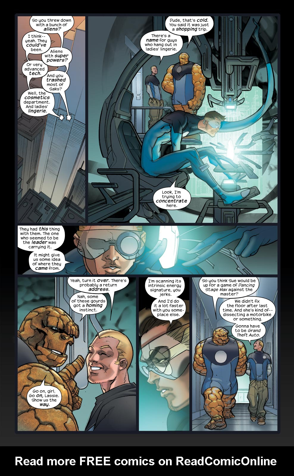 Read online Ultimate Fantastic Four (2004) comic -  Issue #33 - 16