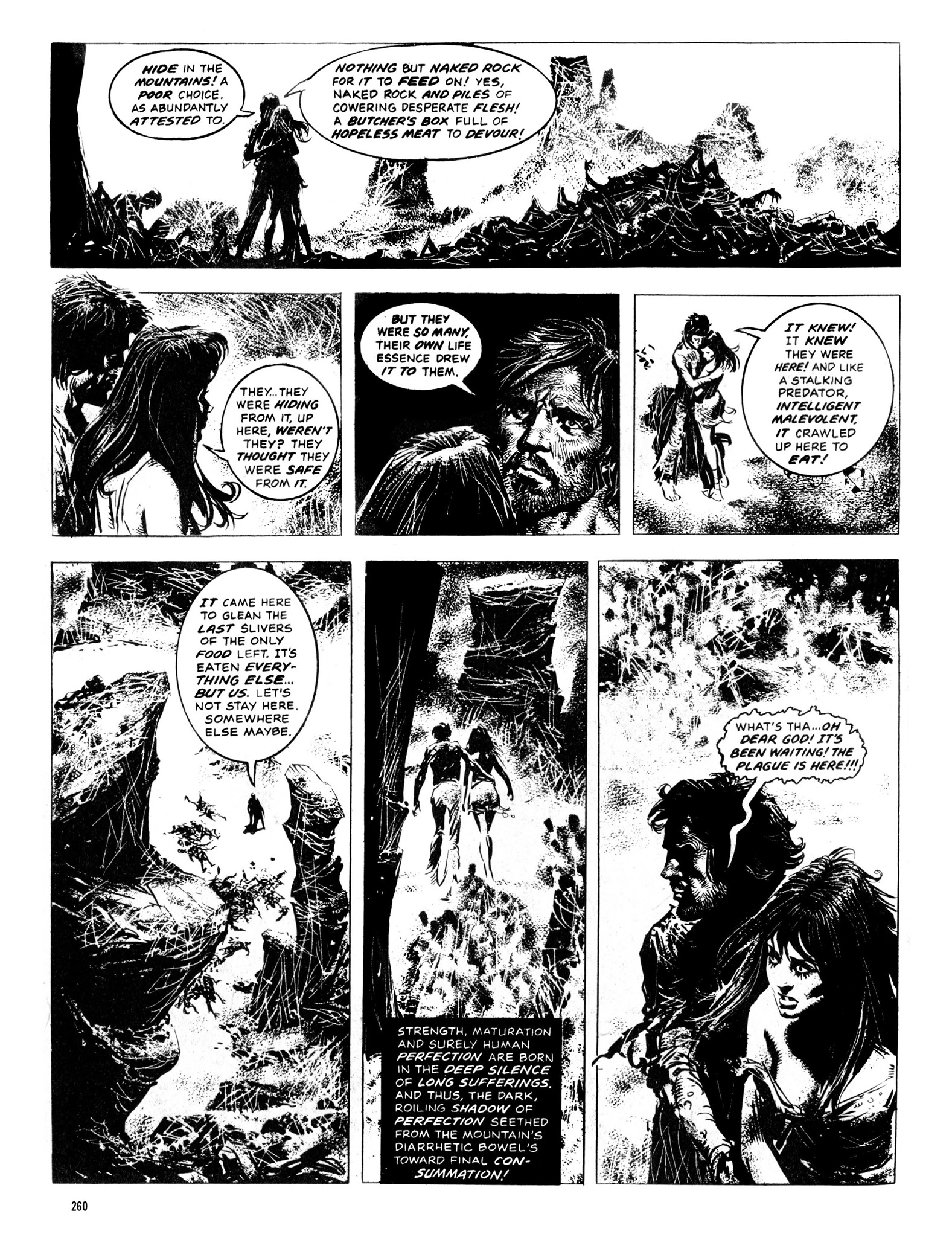 Read online Eerie Archives comic -  Issue # TPB 13 - 261