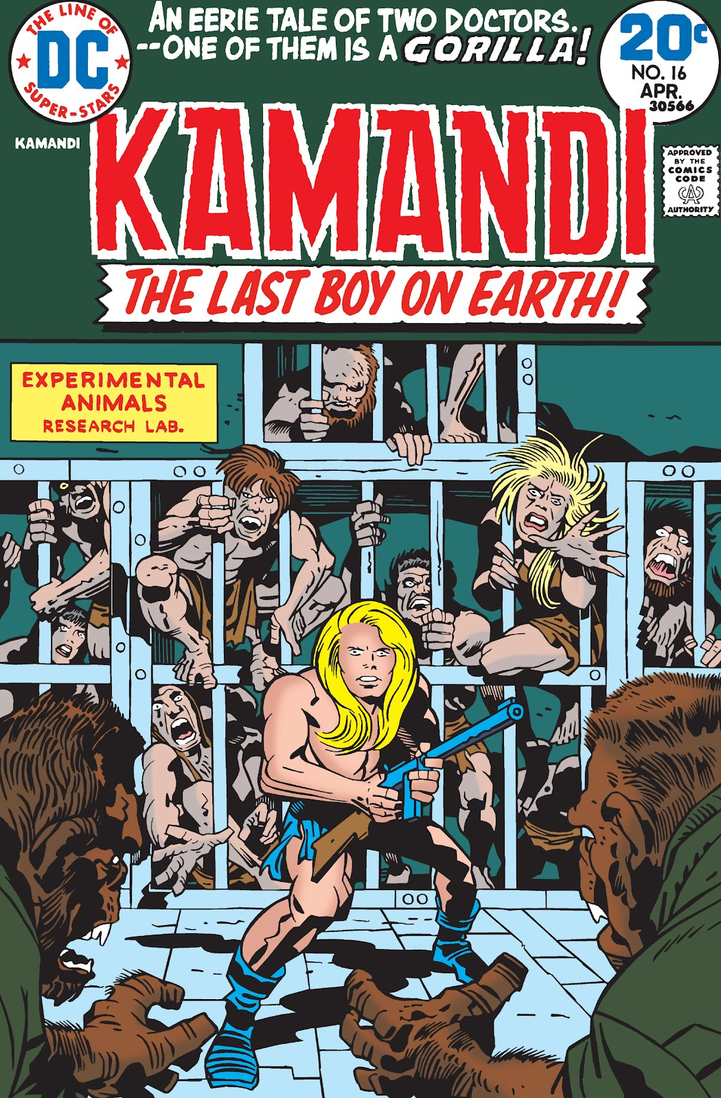 Kamandi, The Last Boy On Earth issue 16 - Page 1