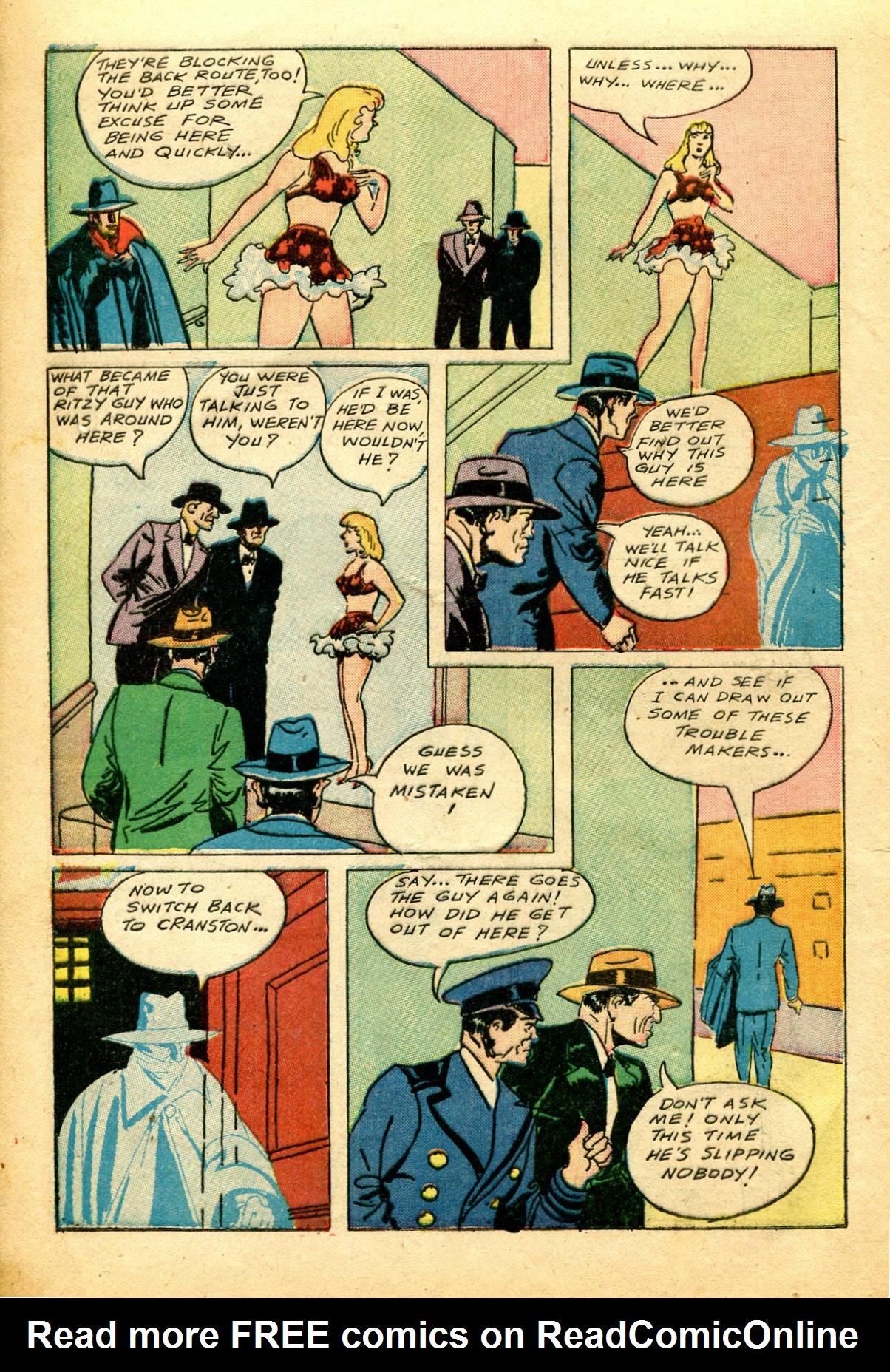 Read online Shadow Comics comic -  Issue #51 - 9