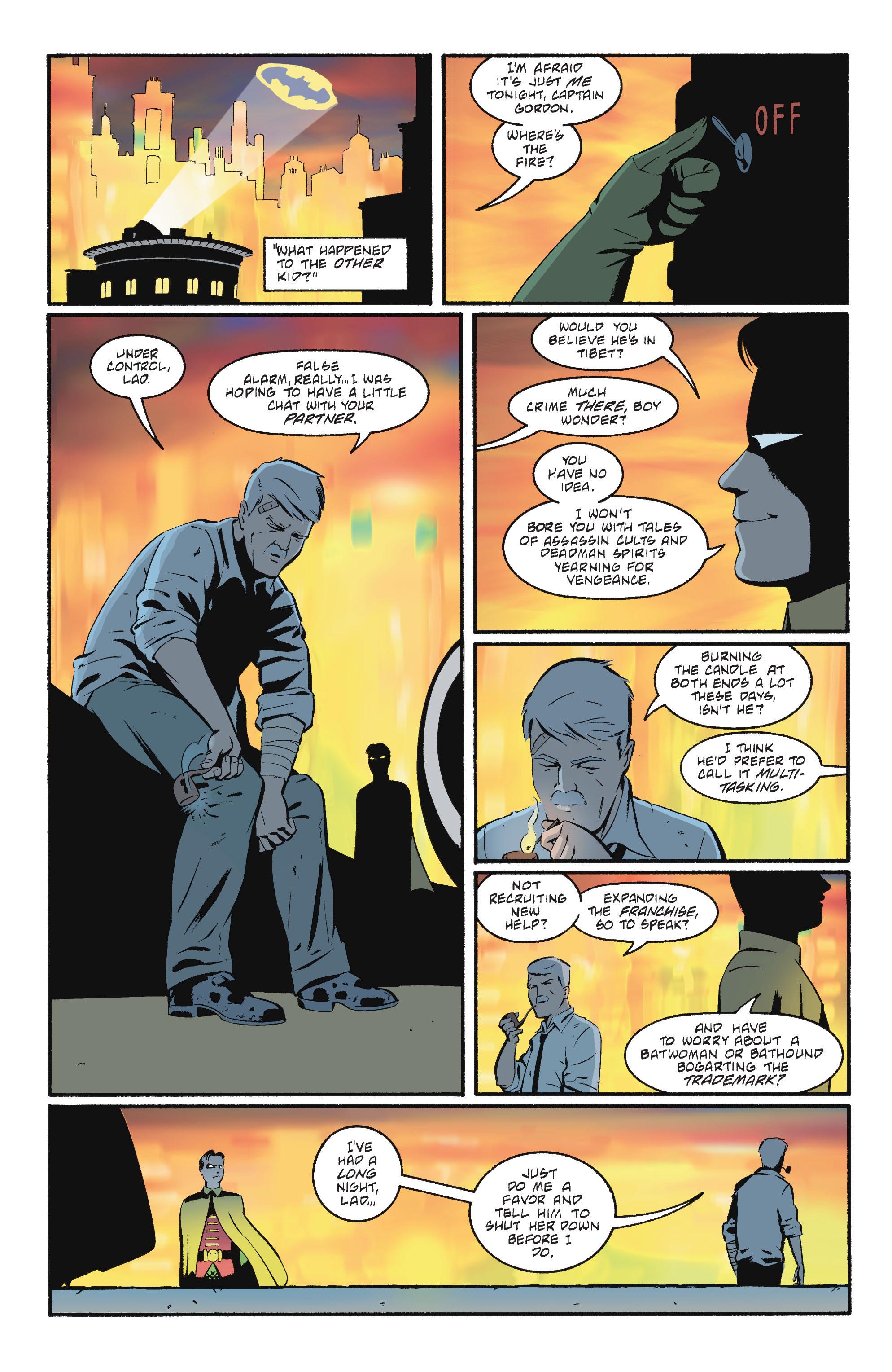 Read online Batgirl/Robin: Year One comic -  Issue # TPB 2 - 140
