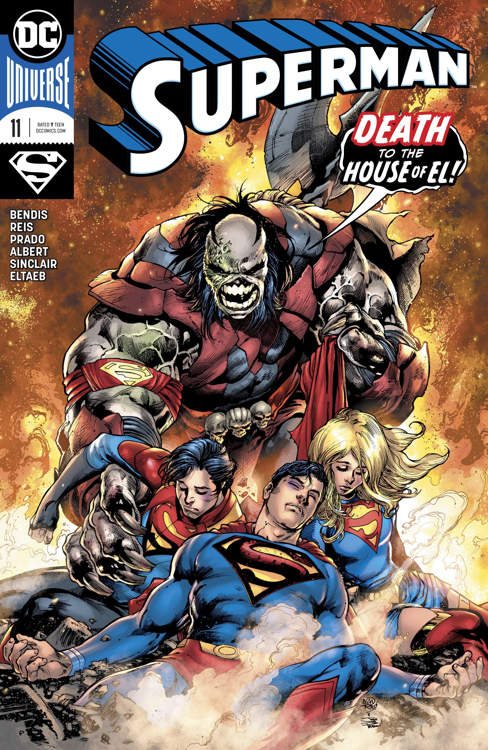 Superman (2018) 11 Page 1