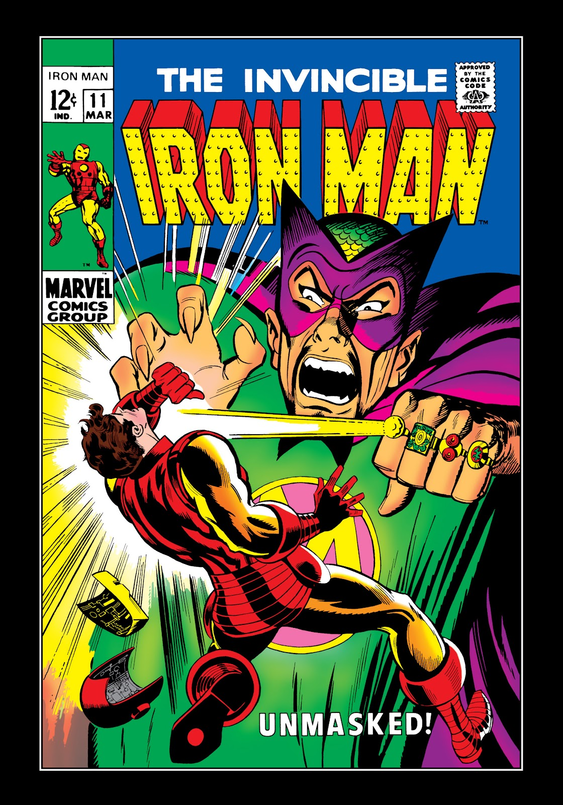 Read online Marvel Masterworks: The Invincible Iron Man comic -  Issue # TPB 5 (Part 2) - 96
