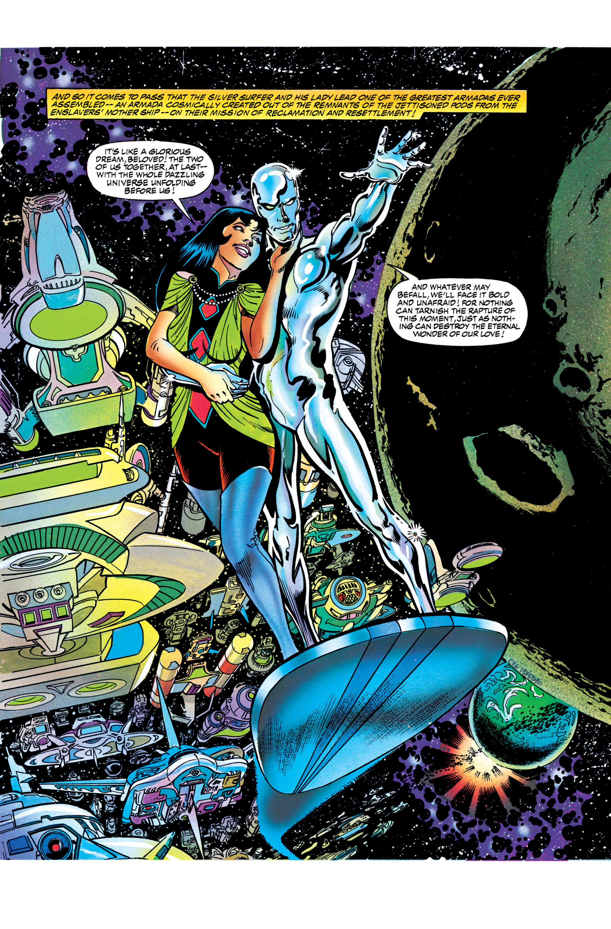 Read online Silver Surfer: Parable comic -  Issue # TPB - 132