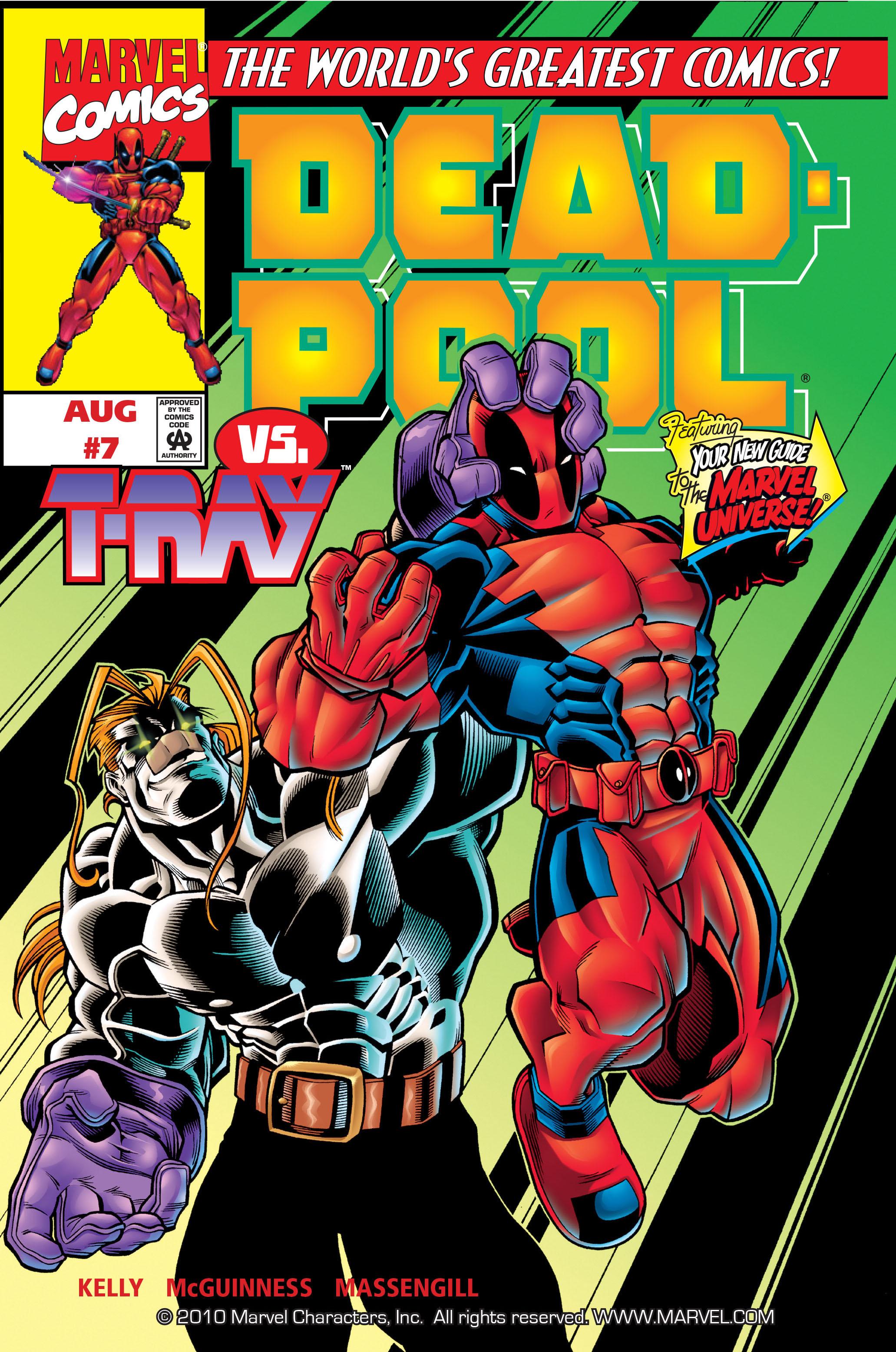 Deadpool (1997) 7 Page 1