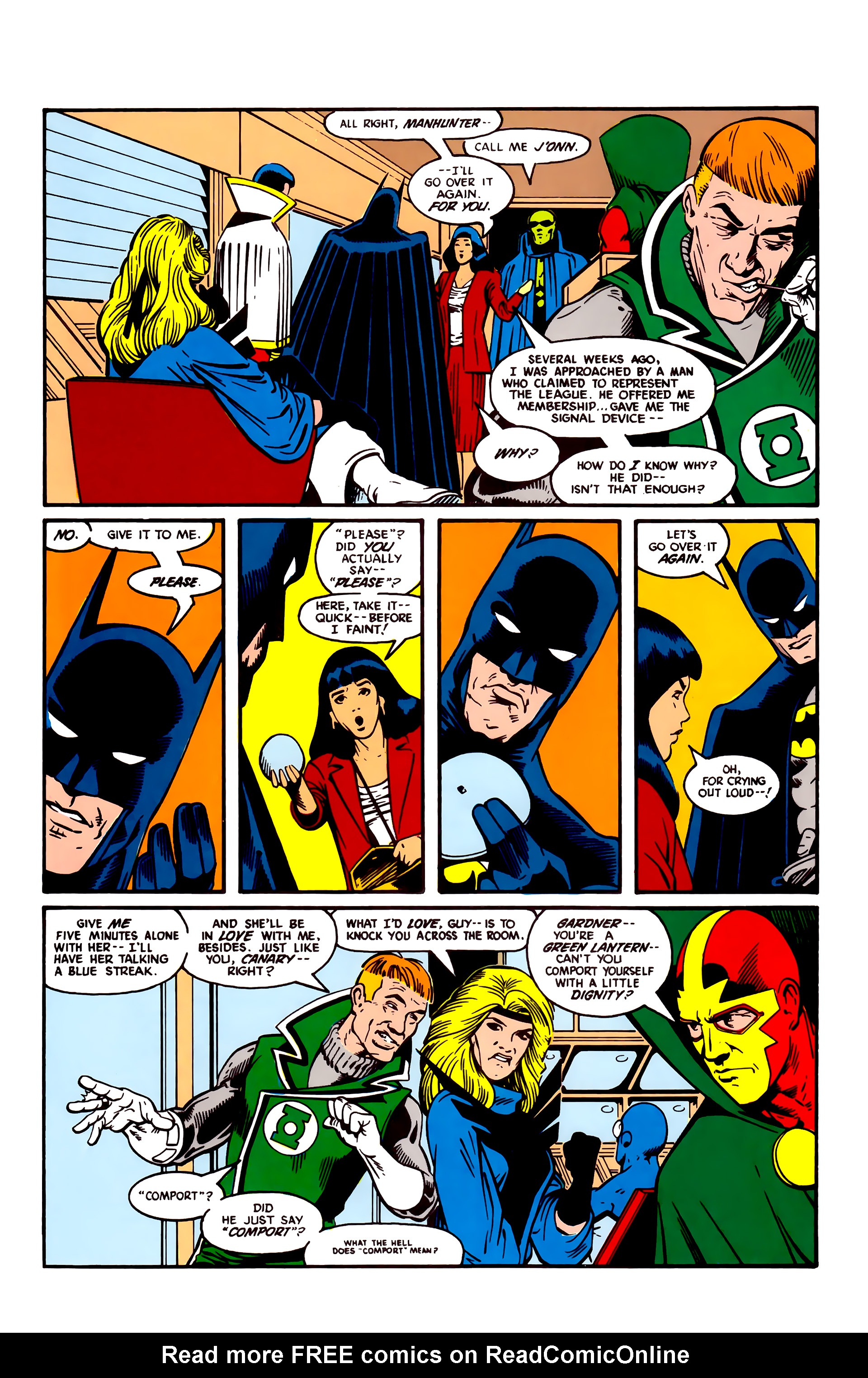 Justice League (1987) 2 Page 3