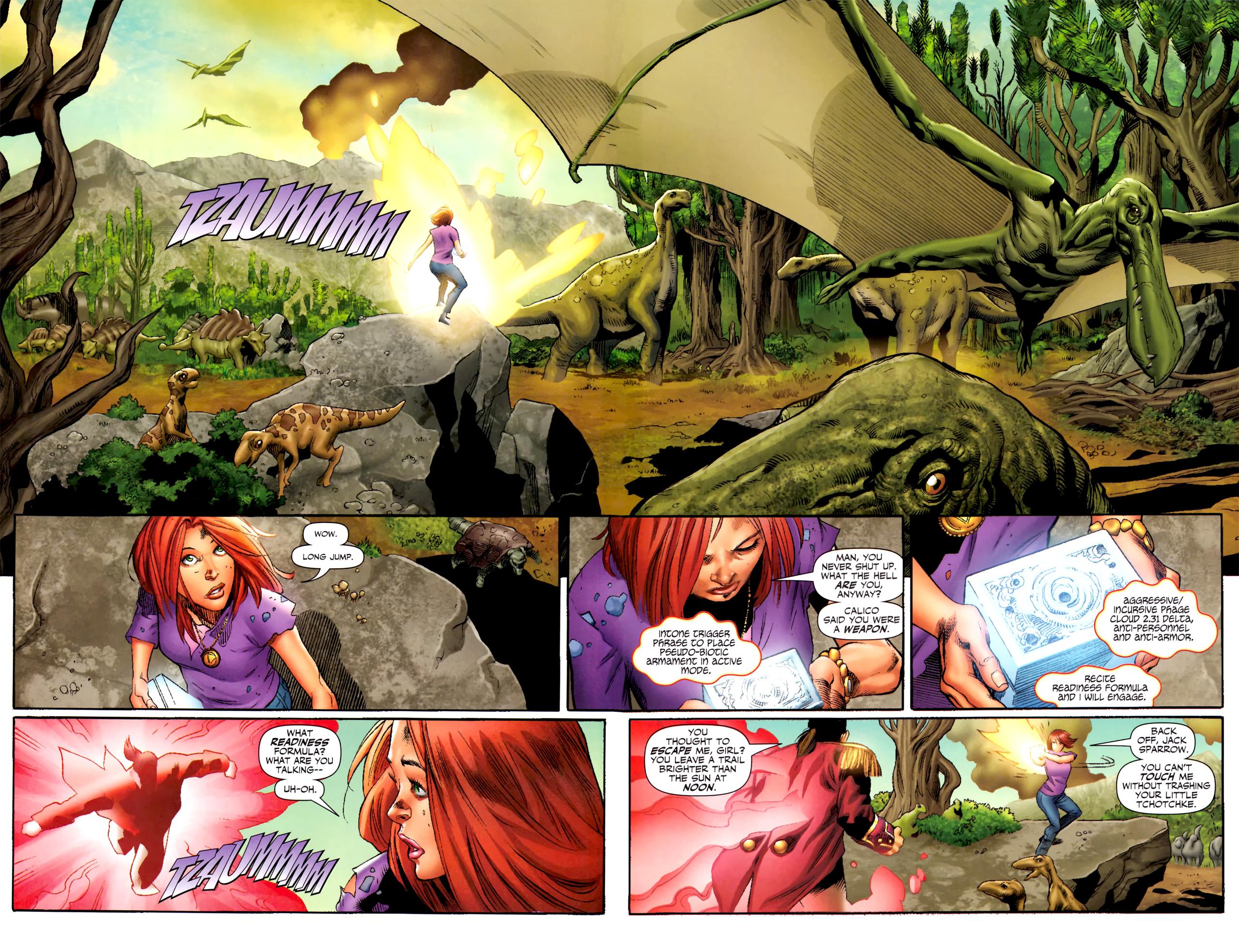 Read online Sigil (2011) comic -  Issue #4 - 6