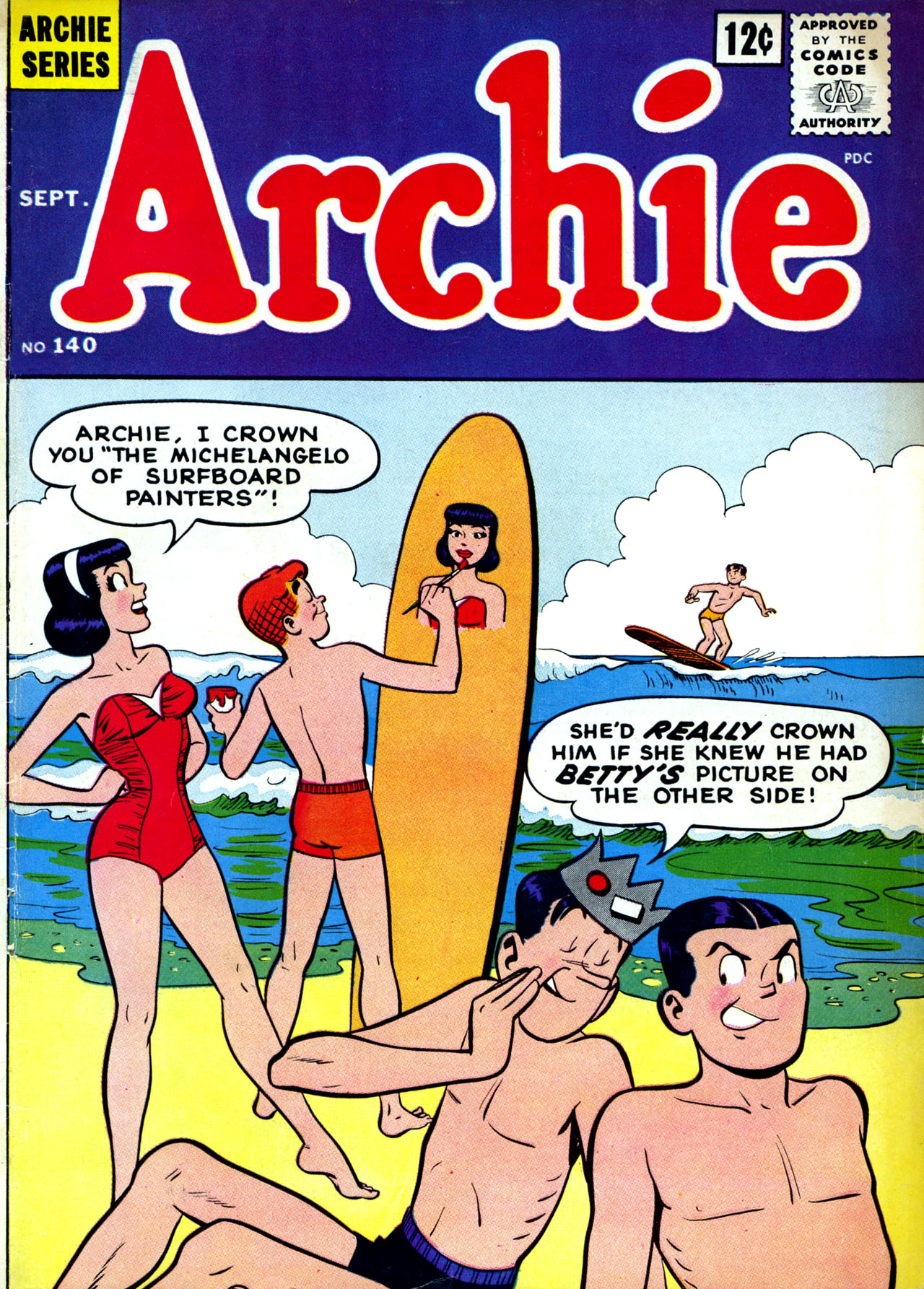 Read online Archie (1960) comic -  Issue #140 - 1