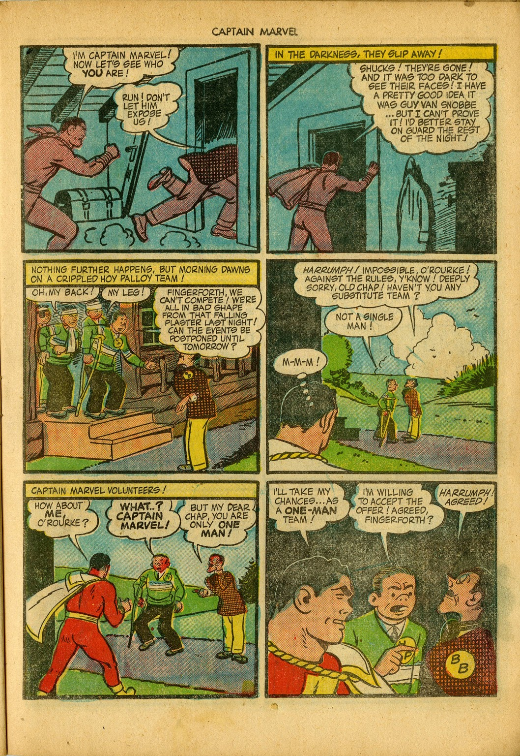 Captain Marvel Adventures issue 34 - Page 23