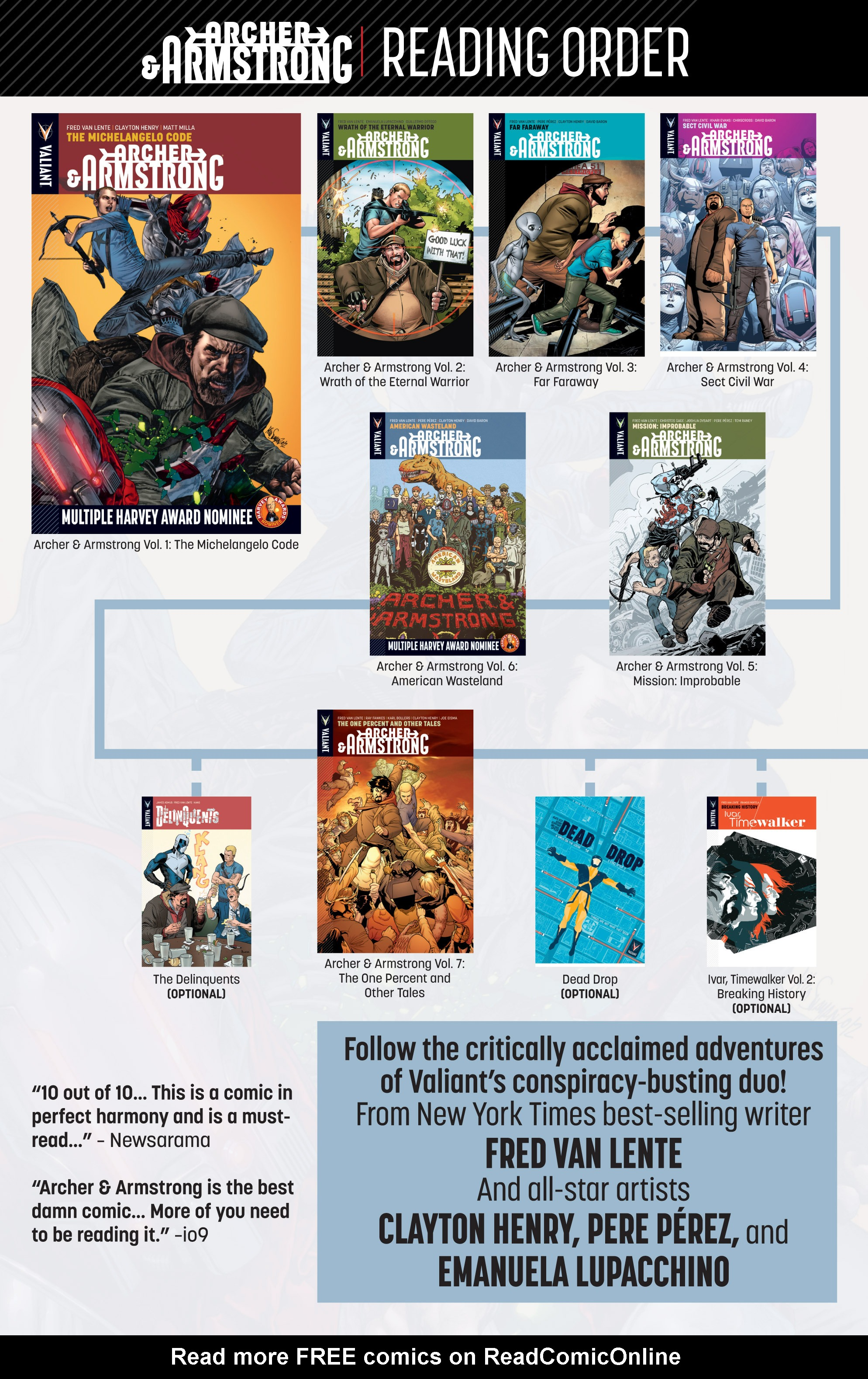Read online Archer and Armstrong comic -  Issue #Archer and Armstrong _TPB 7 - 104
