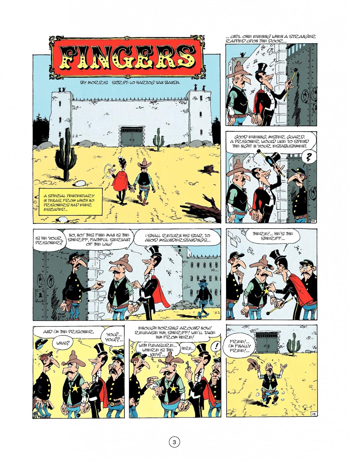 Read online A Lucky Luke Adventure comic -  Issue #37 - 3