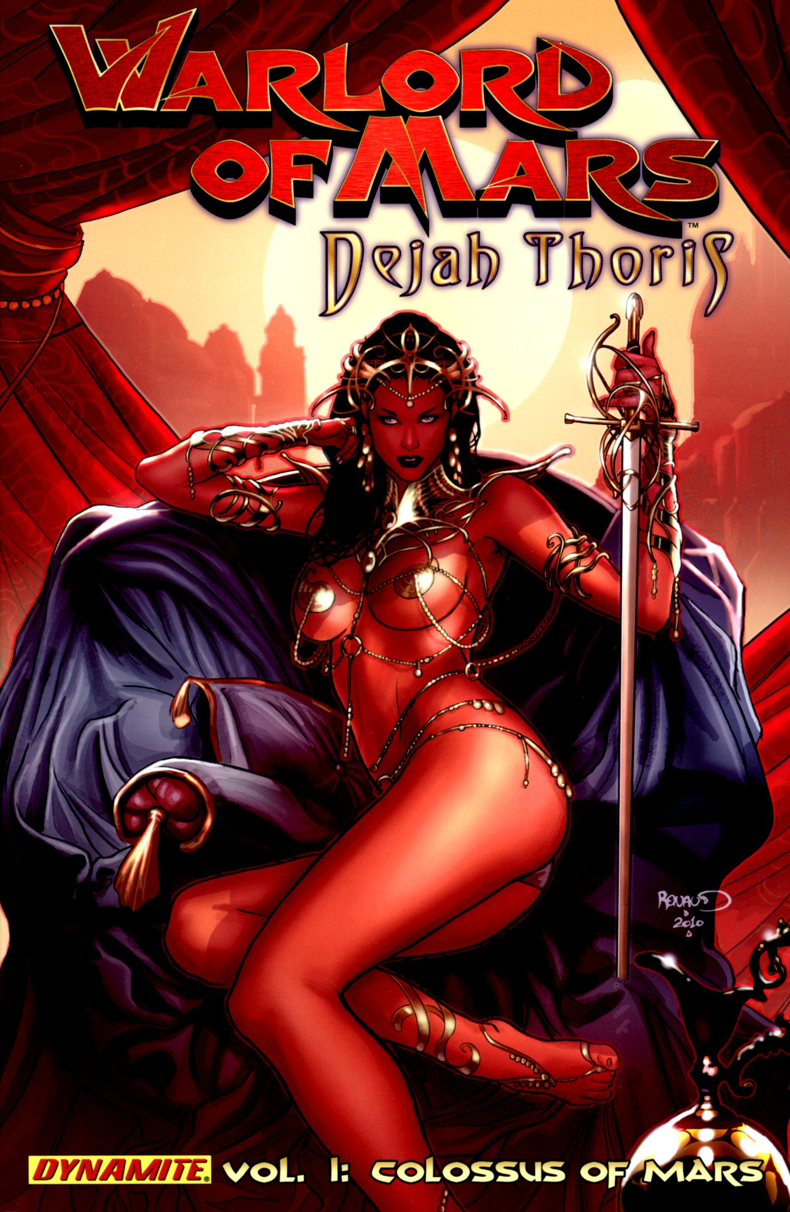 Warlord Of Mars: Dejah Thoris _TPB_2_-_The_Colossus_of_Mars Page 1