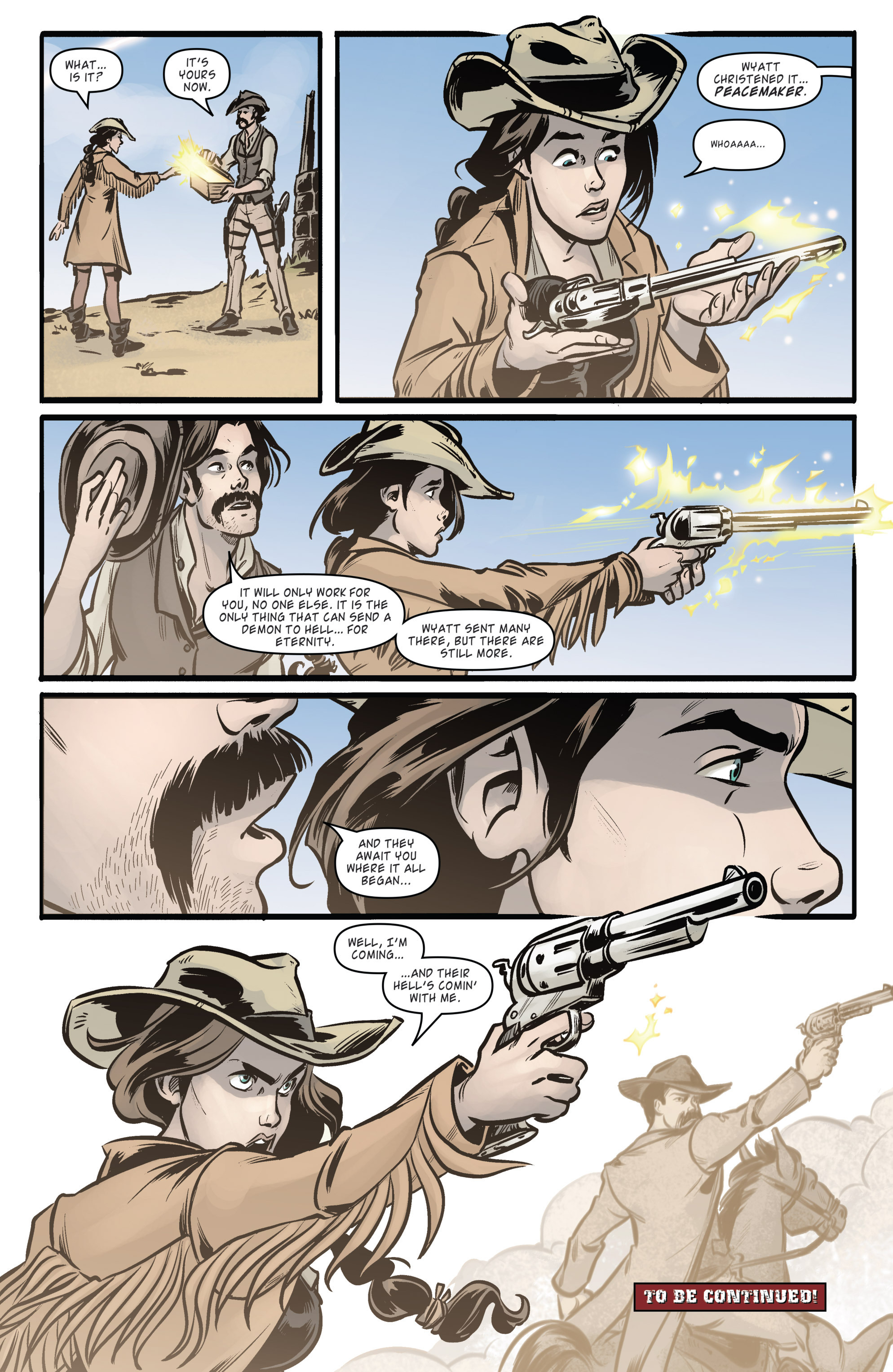 Read online Wynonna Earp (2016) comic -  Issue #5 - 21