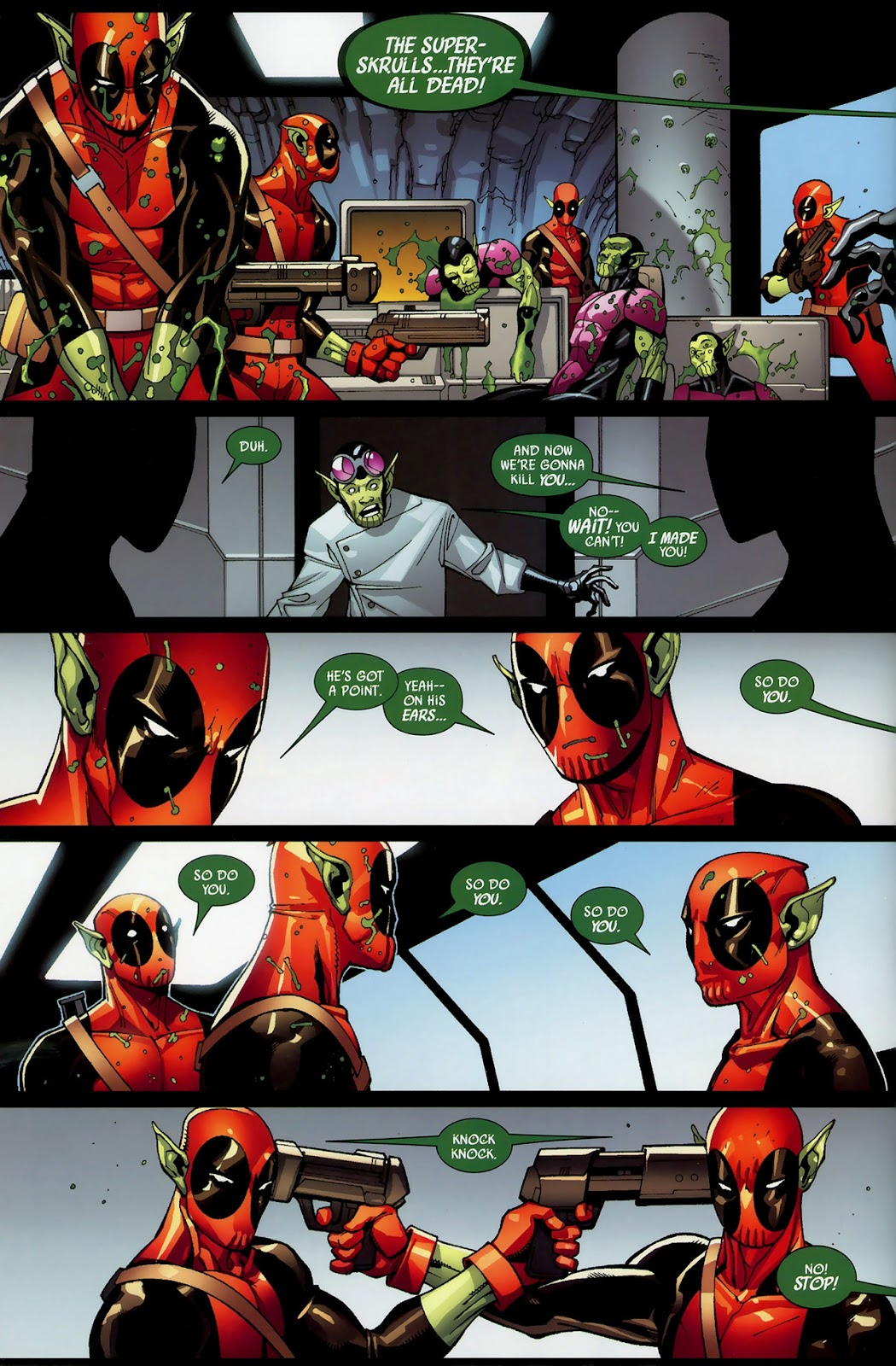 Read online Deadpool (2008) comic -  Issue #3 - 8