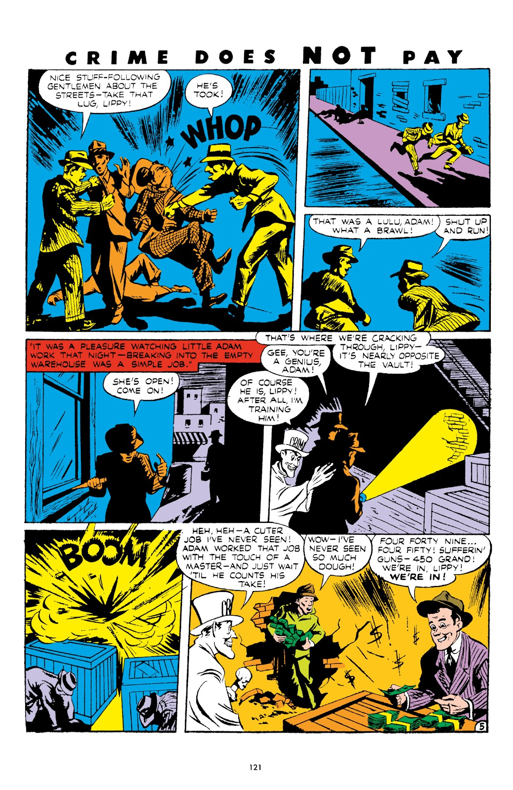 Read online Crime Does Not Pay Archives comic -  Issue # TPB 5 (Part 2) - 21