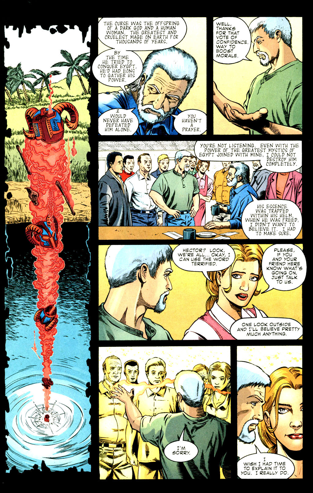 Read online Doctor Fate (2003) comic -  Issue #3 - 7