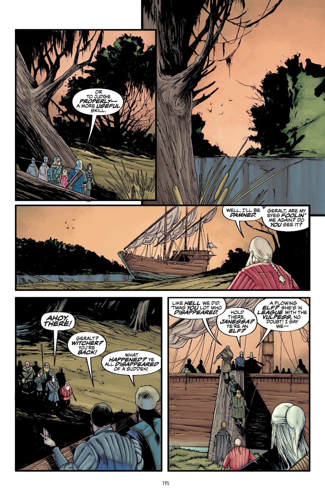Read online The Witcher Omnibus comic -  Issue # TPB (Part 2) - 95