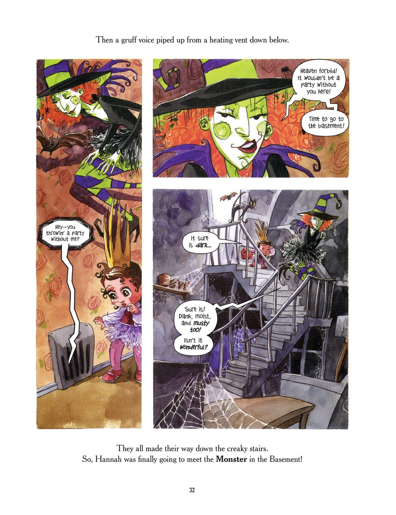 Read online Scary Godmother comic -  Issue # TPB - 32