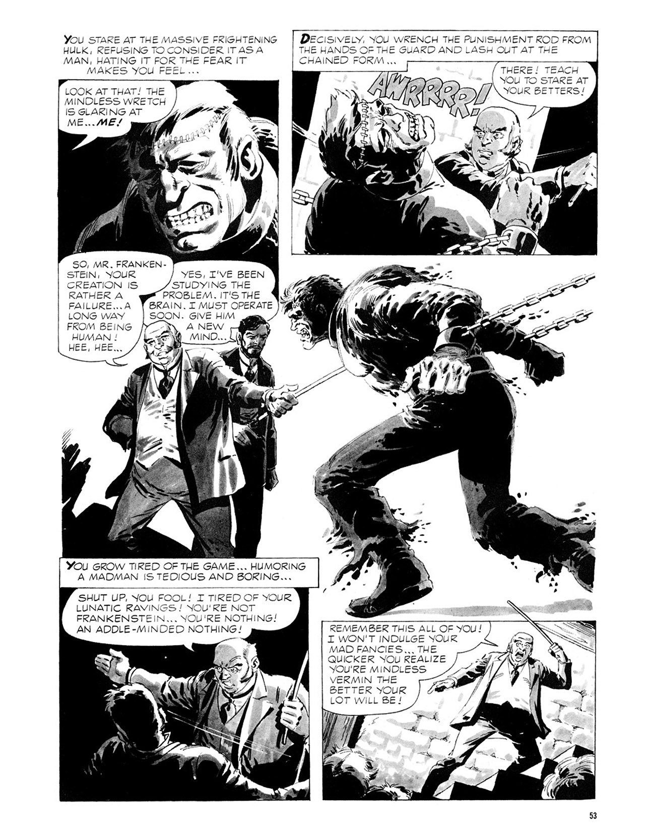 Read online Eerie Archives comic -  Issue # TPB 2 - 54