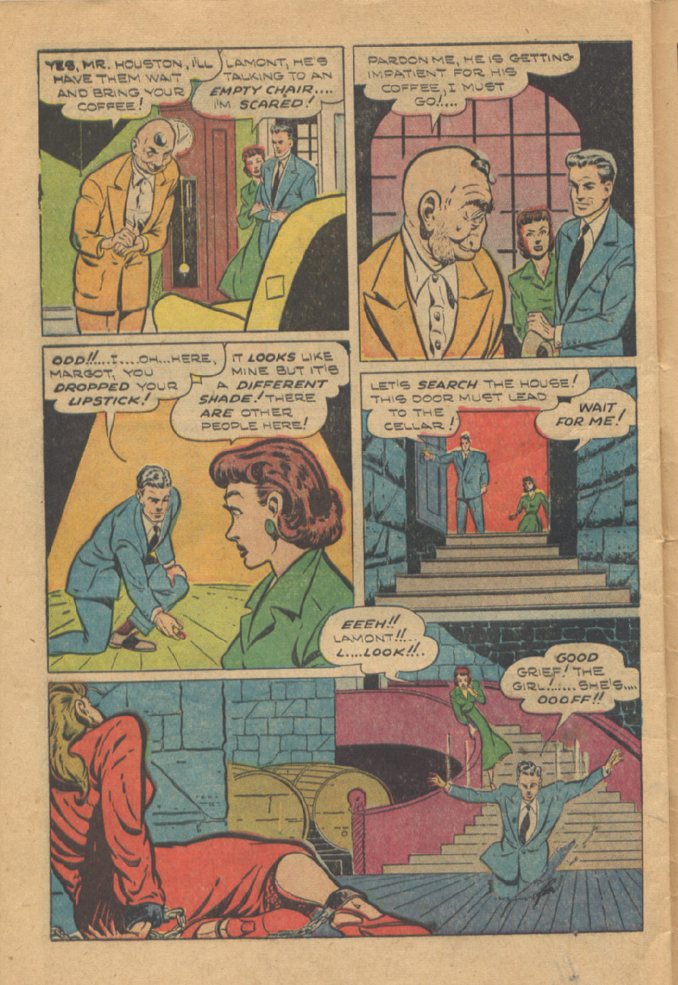 Read online Shadow Comics comic -  Issue #95 - 46