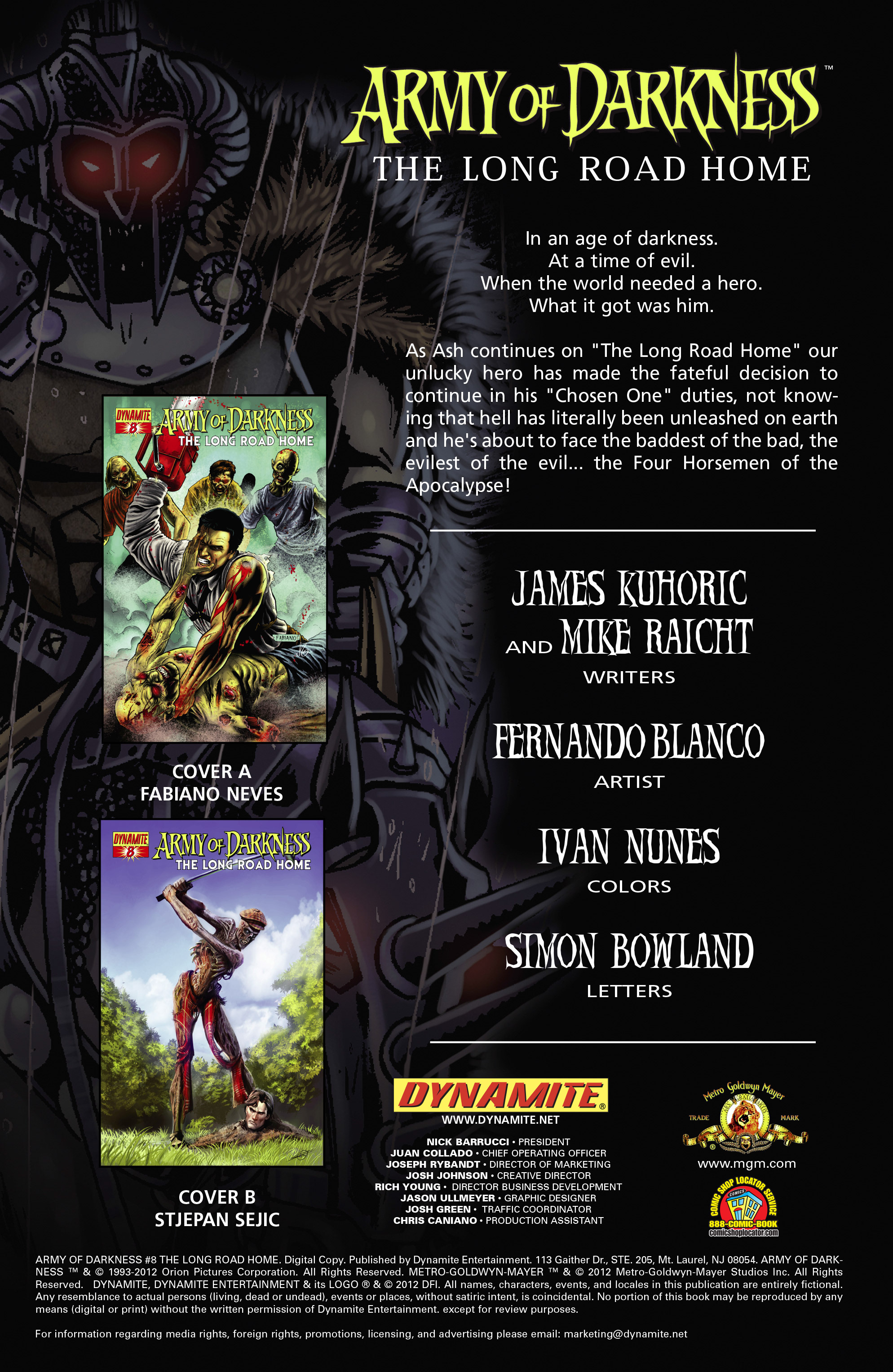 Read online Army of Darkness: The Long Road Home comic -  Issue #Army of Darkness: The Long Road Home TPB - 81