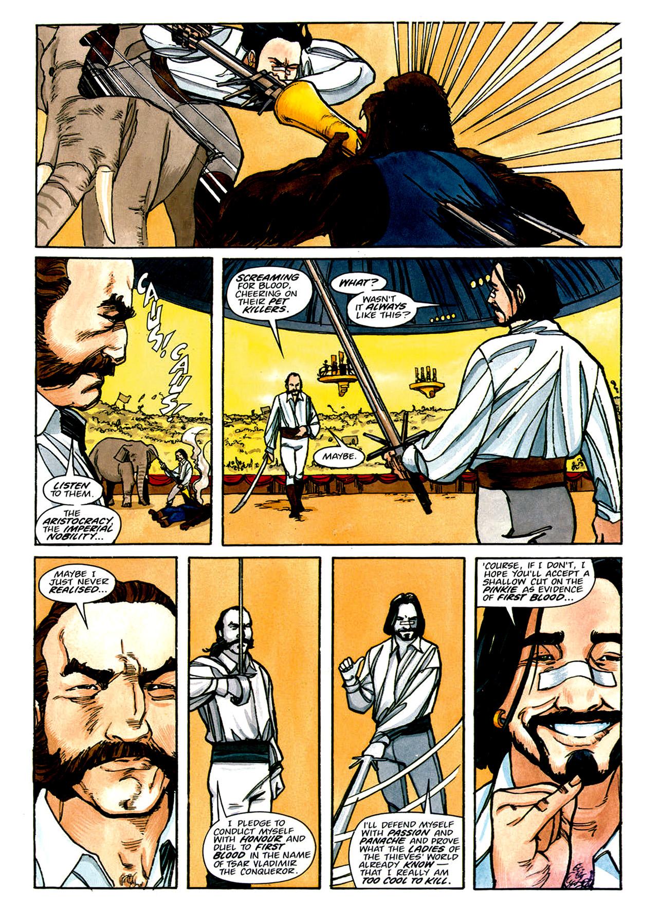 Read online Nikolai Dante comic -  Issue # TPB 1 - 149