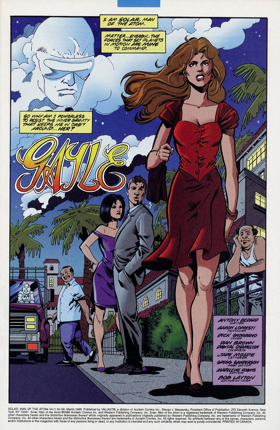 Read online Solar, Man of the Atom comic -  Issue #59 - 2