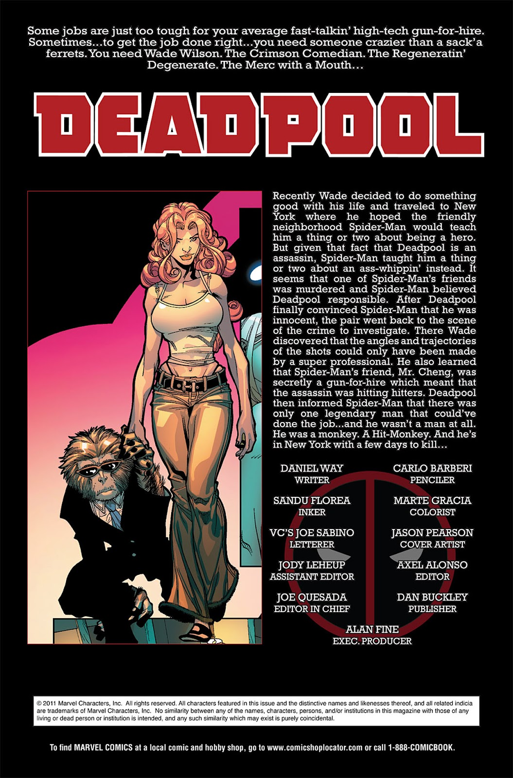 Read online Deadpool (2008) comic -  Issue #20 - 2