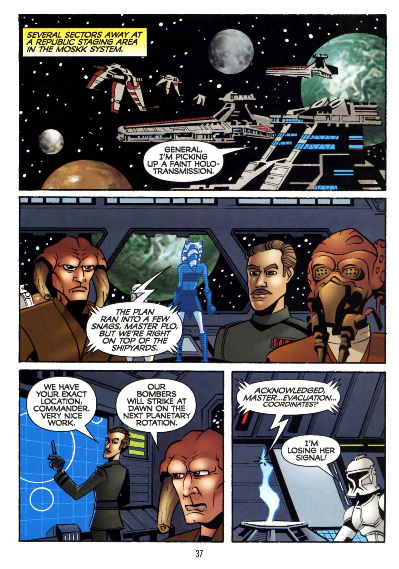 Read online Star Wars: The Clone Wars - Shipyards of Doom comic -  Issue # Full - 35