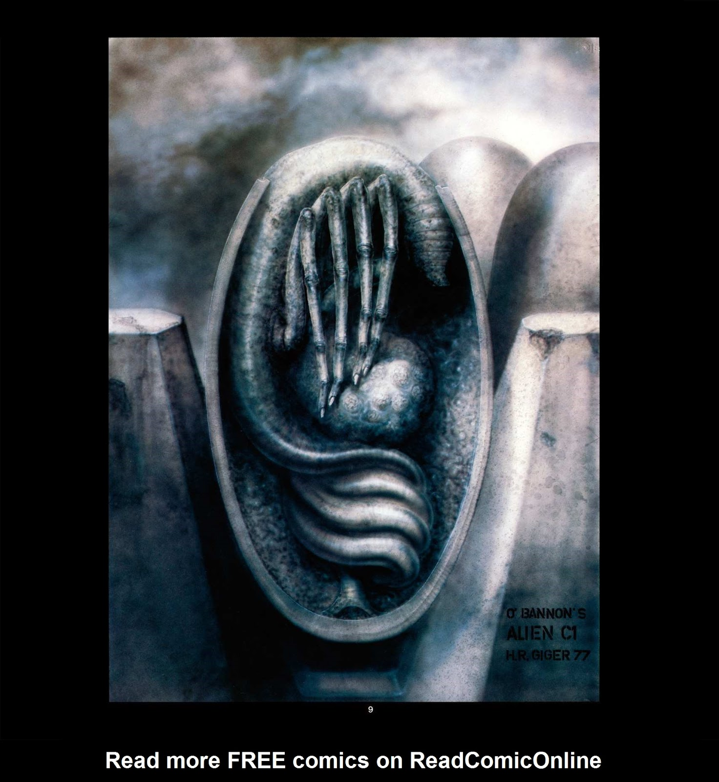 Read online Giger's Alien comic -  Issue # TPB - 11