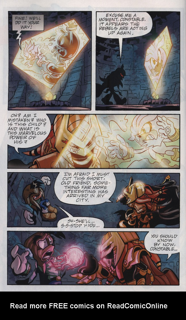 Read online Sonic Universe comic -  Issue #25 - 30