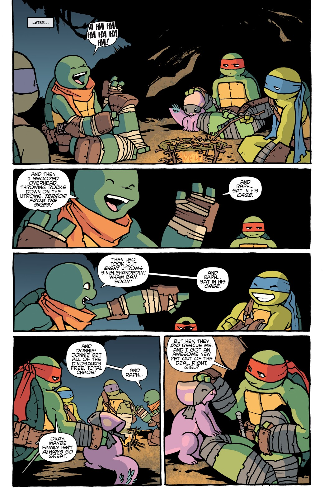Read online Teenage Mutant Ninja Turtles: The IDW Collection comic -  Issue # TPB 5 (Part 1) - 27