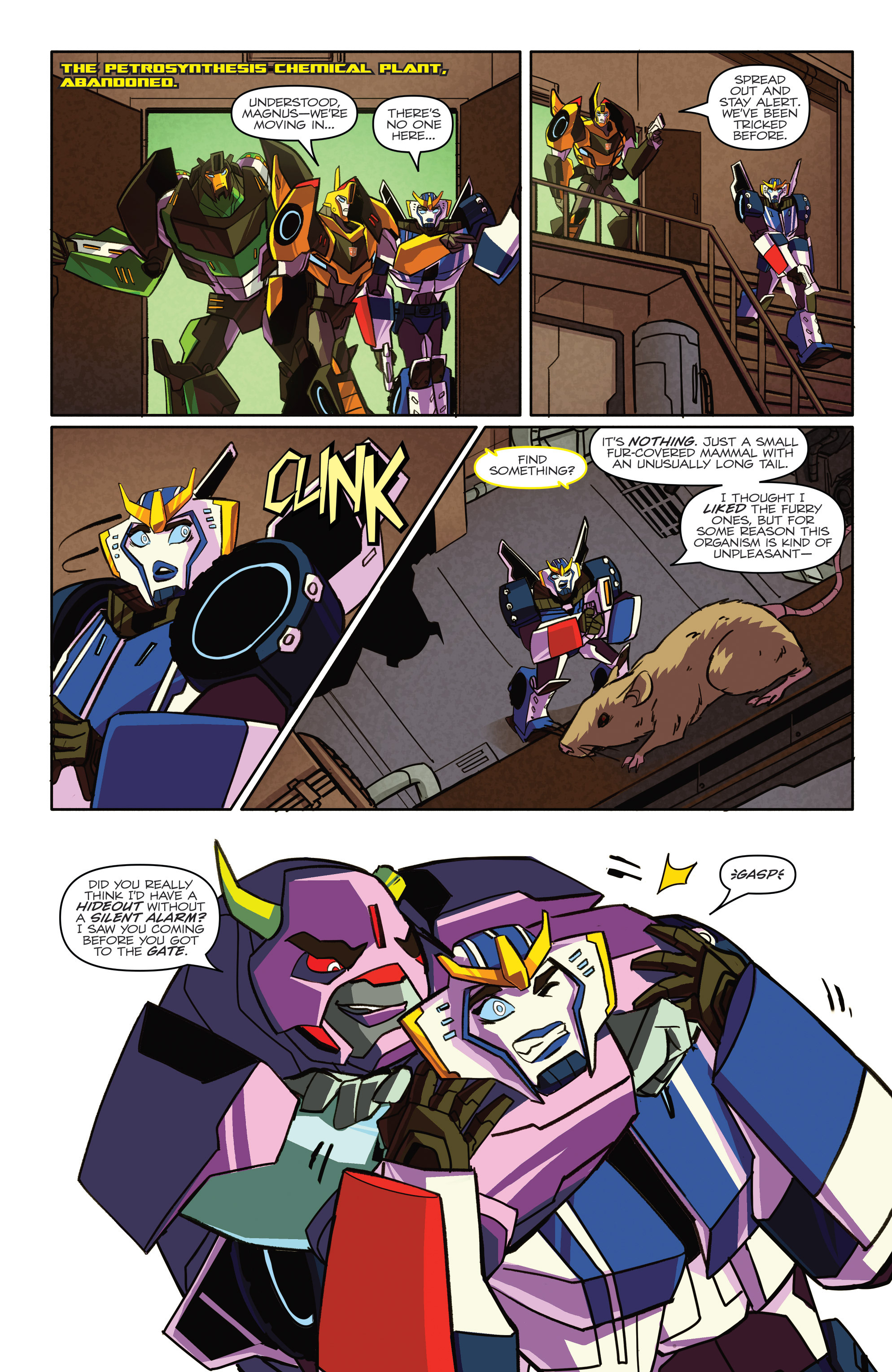 Read online Transformers: Robots In Disguise (2015) comic -  Issue #4 - 15