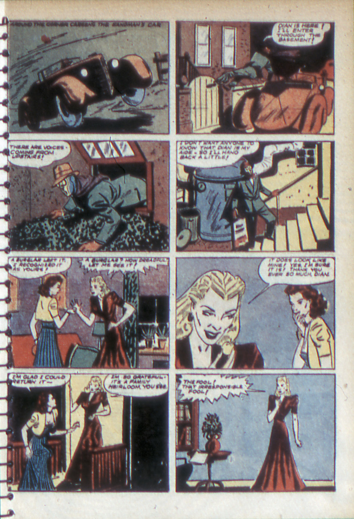 Read online Adventure Comics (1938) comic -  Issue #52 - 6