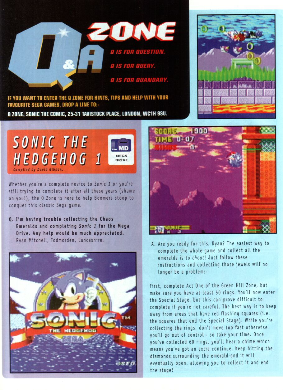 Read online Sonic the Comic comic -  Issue #85 - 24