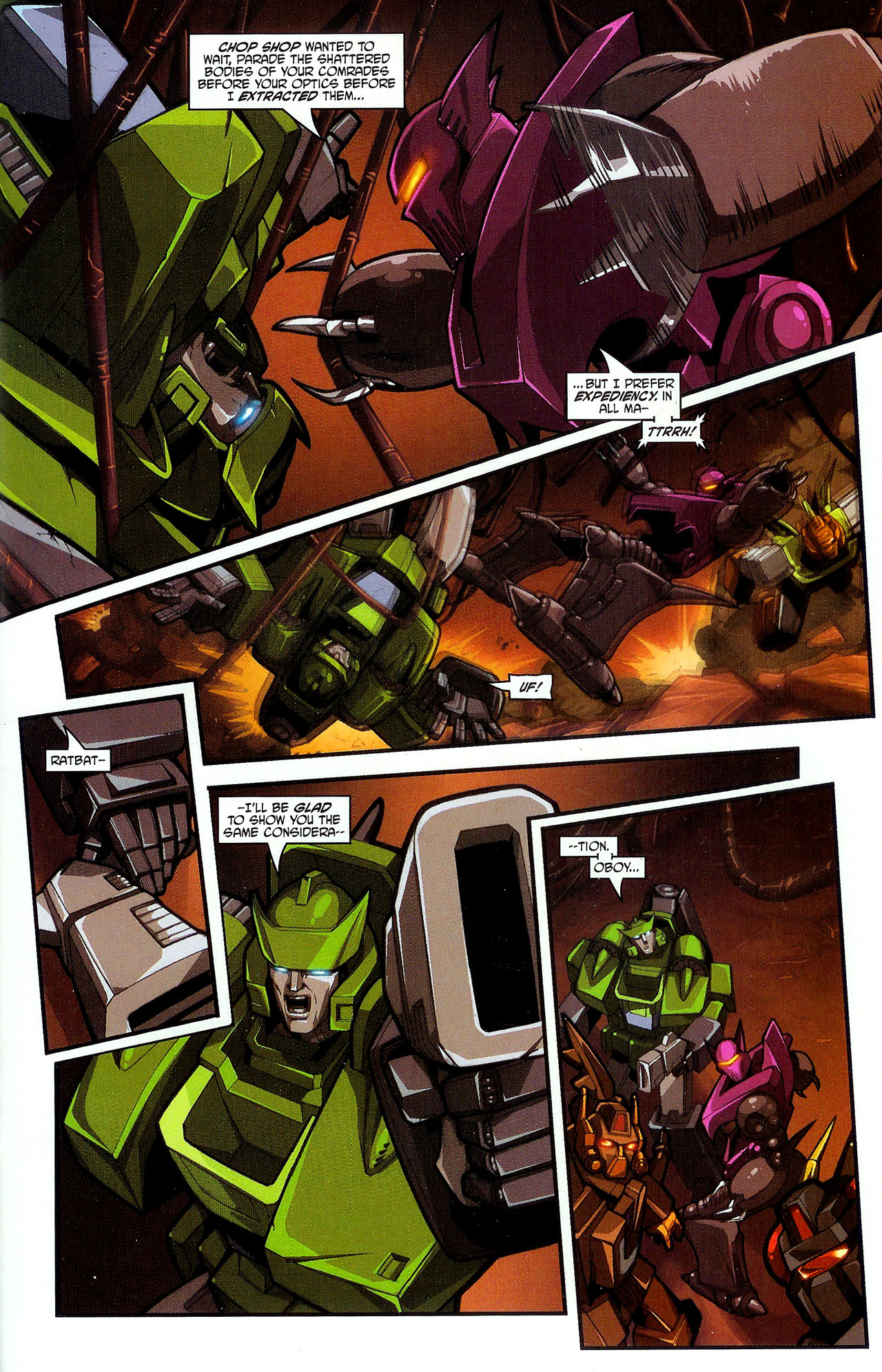 """Read online Transformers War Within: """"The Dark Ages"""" comic -  Issue #2 - 20"""