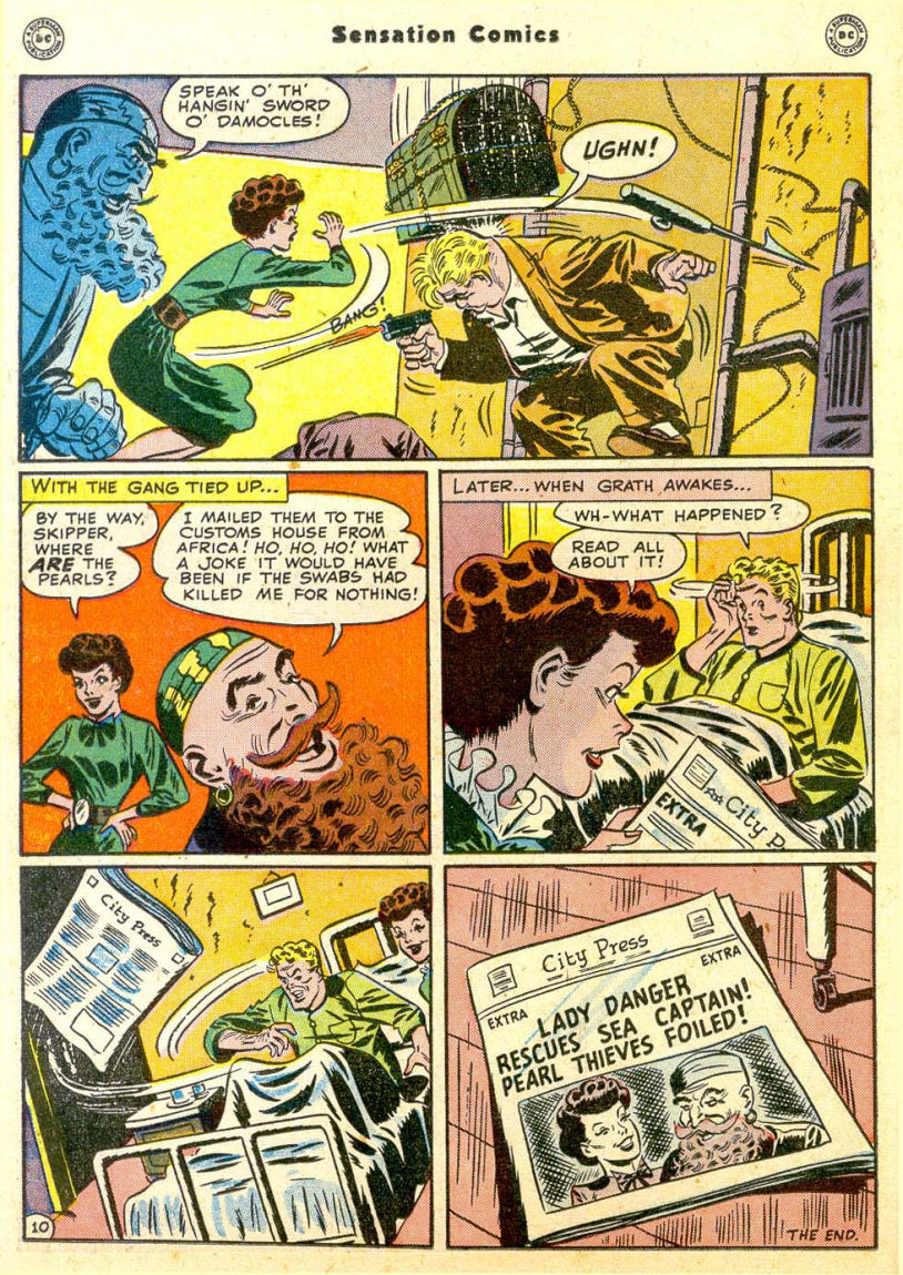 Read online Sensation (Mystery) Comics comic -  Issue #85 - 25