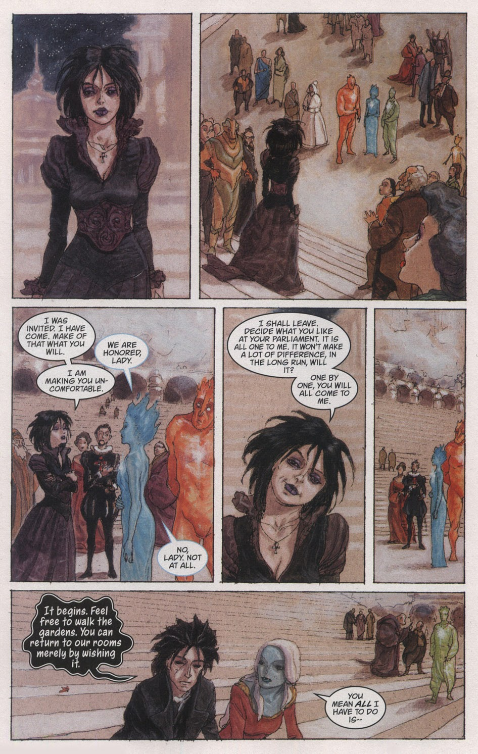 Read online The Sandman: Endless Nights comic -  Issue # _Special - 12