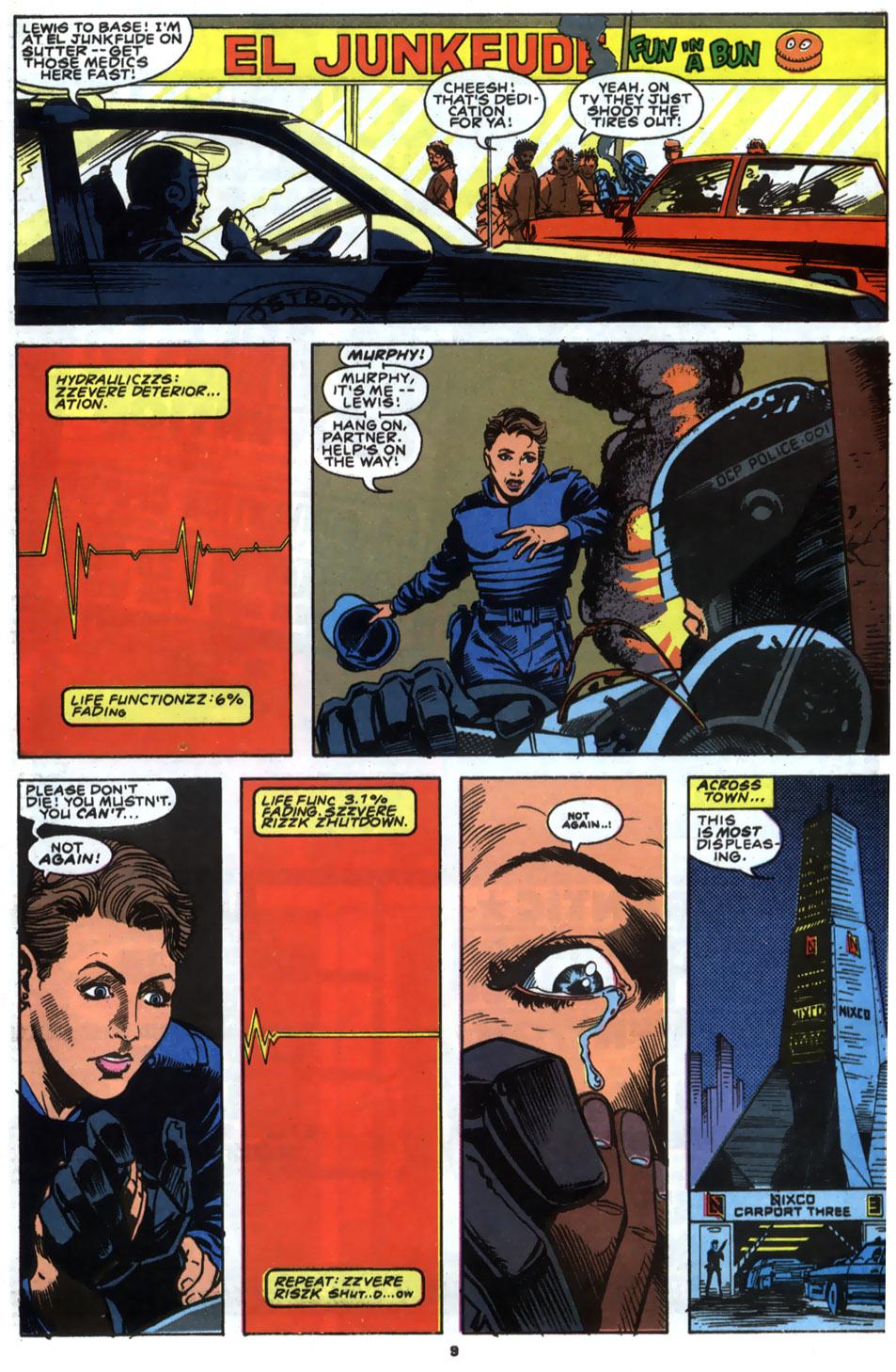 Read online Robocop (1990) comic -  Issue #2 - 8