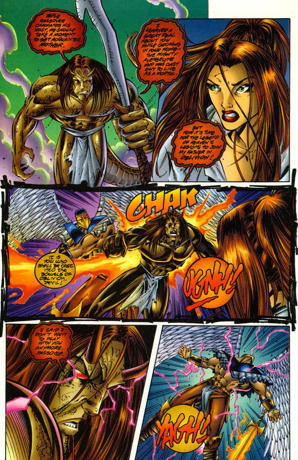 Read online Avengelyne (1996) comic -  Issue #3 - 17