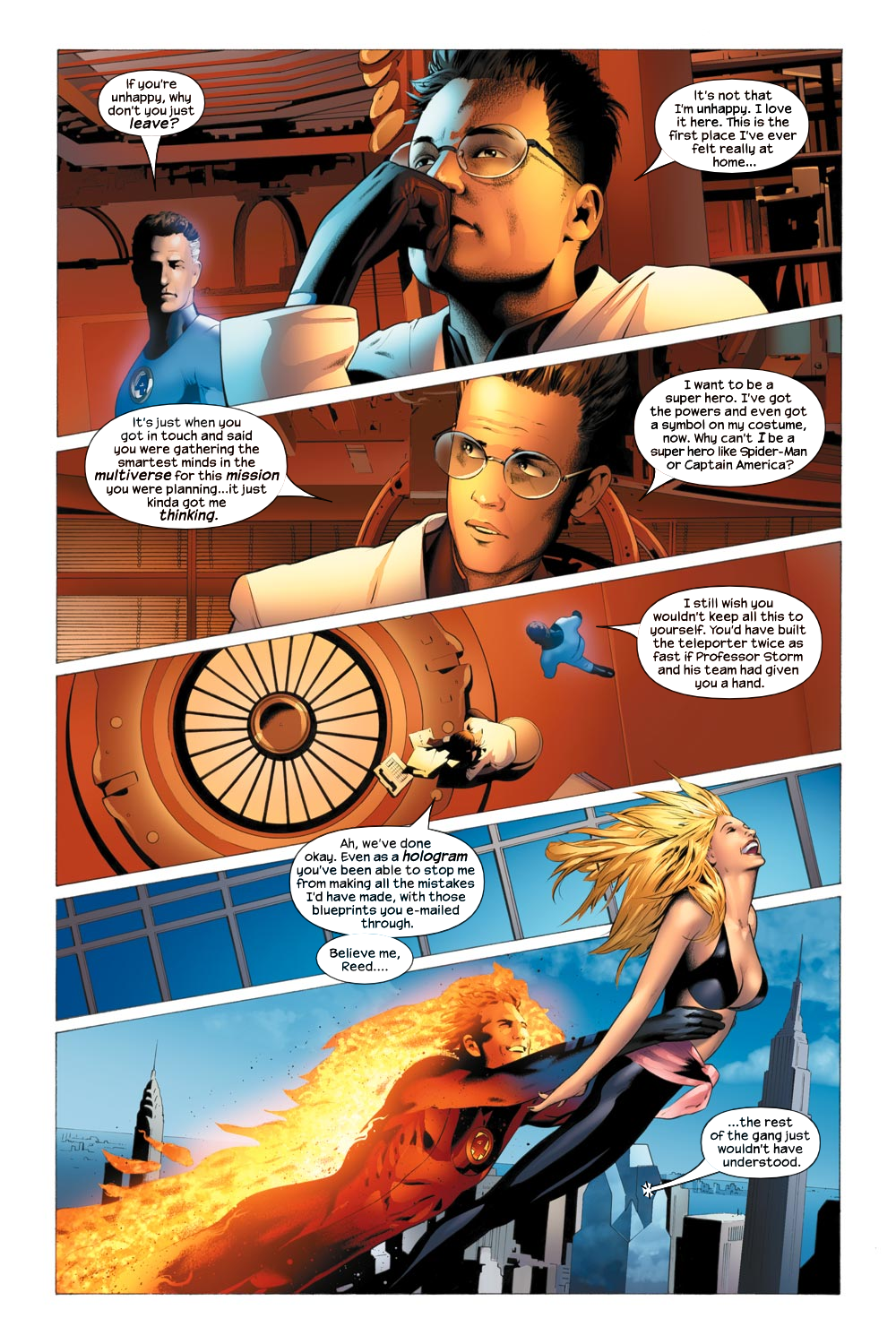 Read online Ultimate Fantastic Four (2004) comic -  Issue #21 - 19