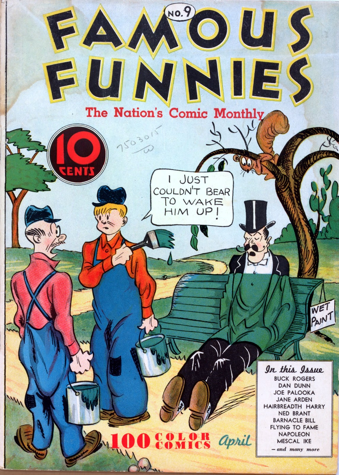 Read online Famous Funnies comic -  Issue #9 - 1