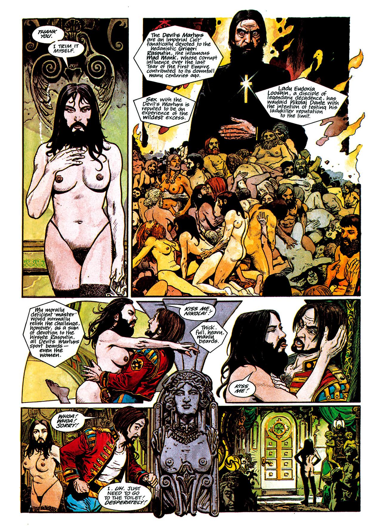 Read online Nikolai Dante comic -  Issue # TPB 1 - 95